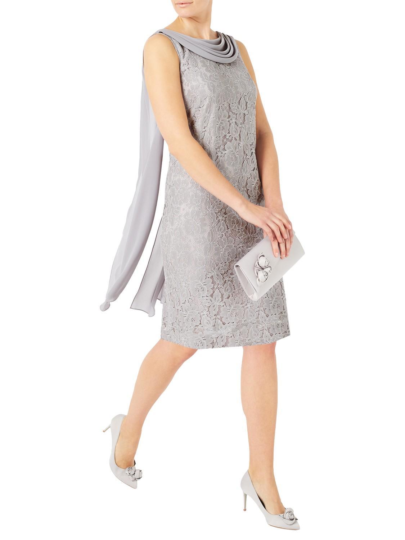 Galerry lace dress zip back