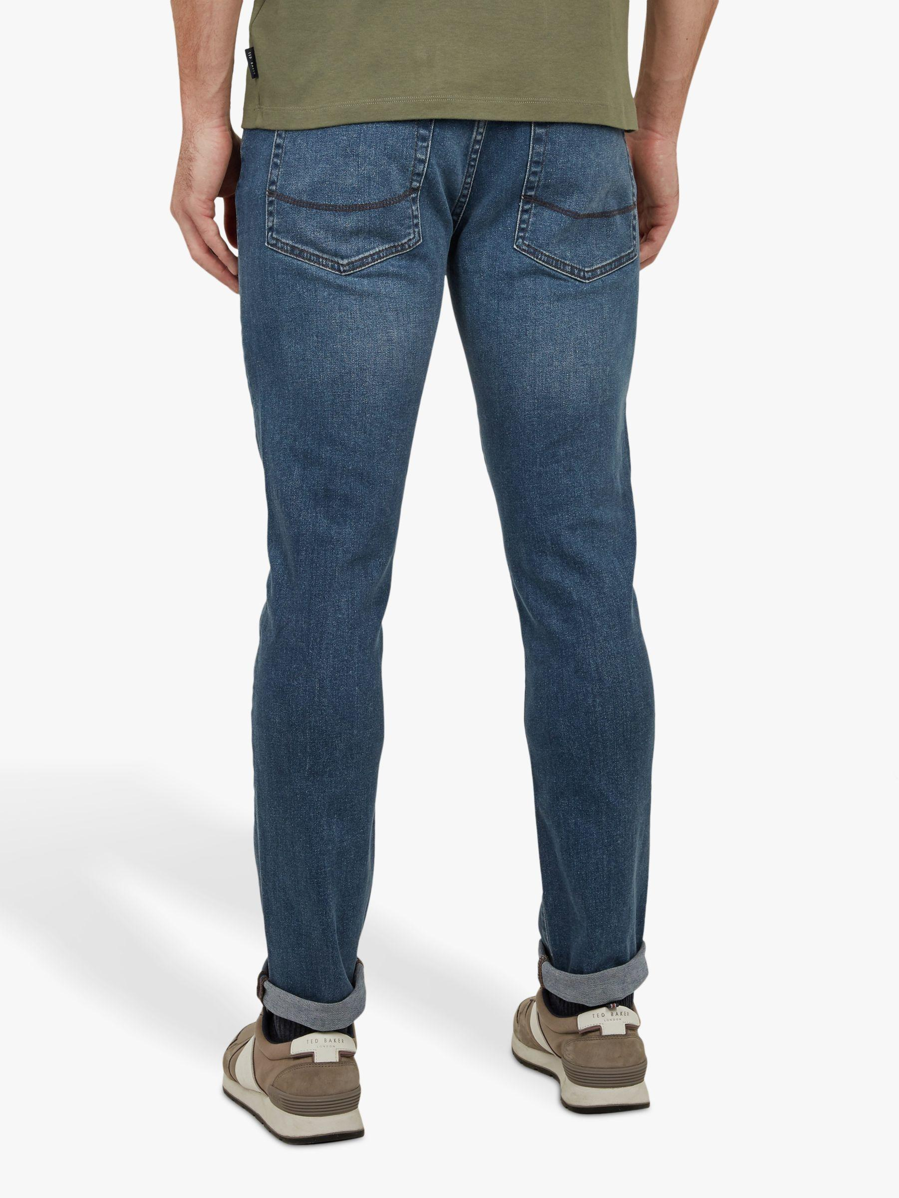 5cec4db596a8 Ted Baker Treezie Tapered Fit Jeans in Blue for Men - Lyst