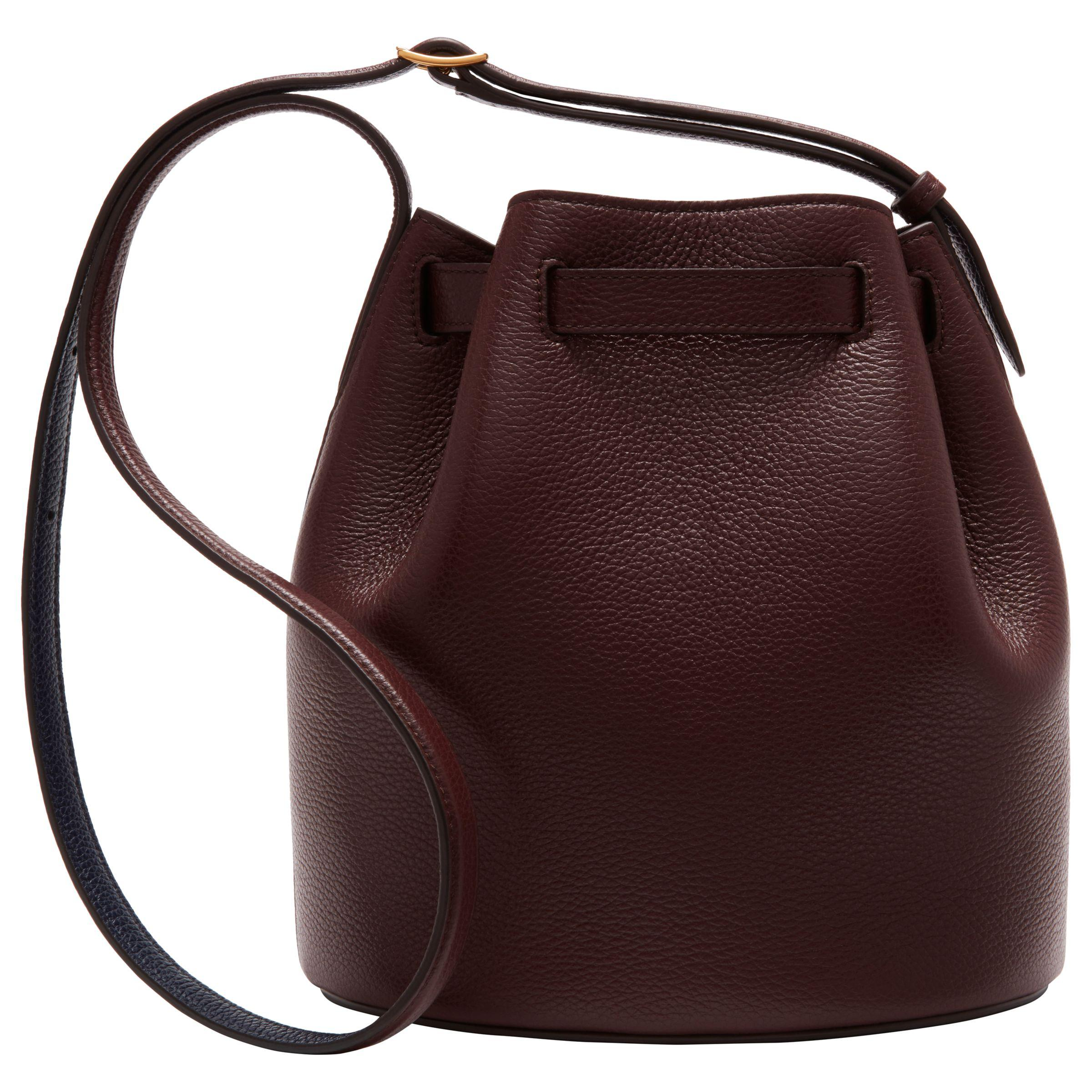 John Lewis Mulberry Abbey Small Classic Grain Leather Bucket Bag - Lyst f622b12dc1656