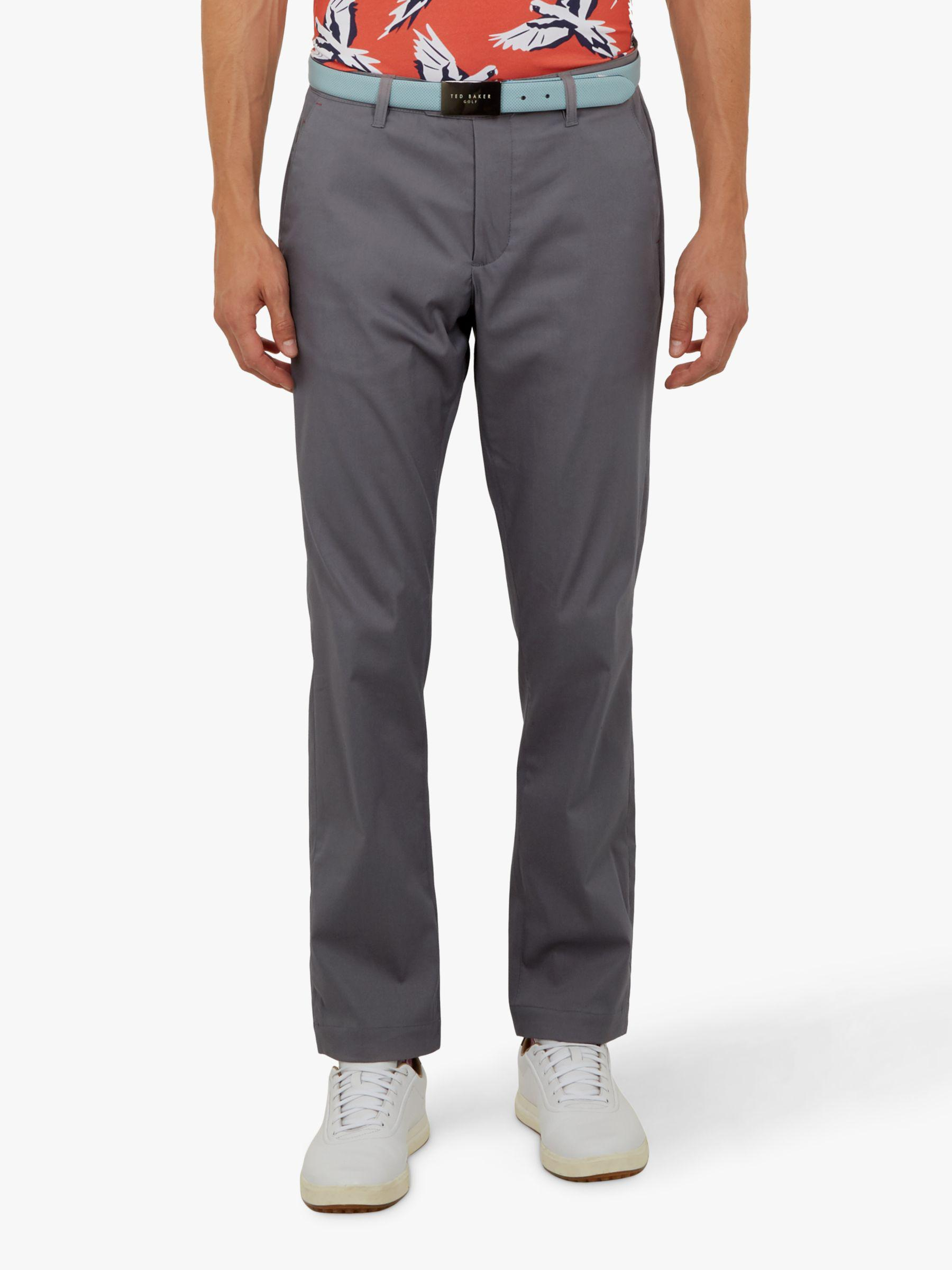 a4b267286f7640 Ted Baker - Gray Golf Jagur Trousers for Men - Lyst. View fullscreen
