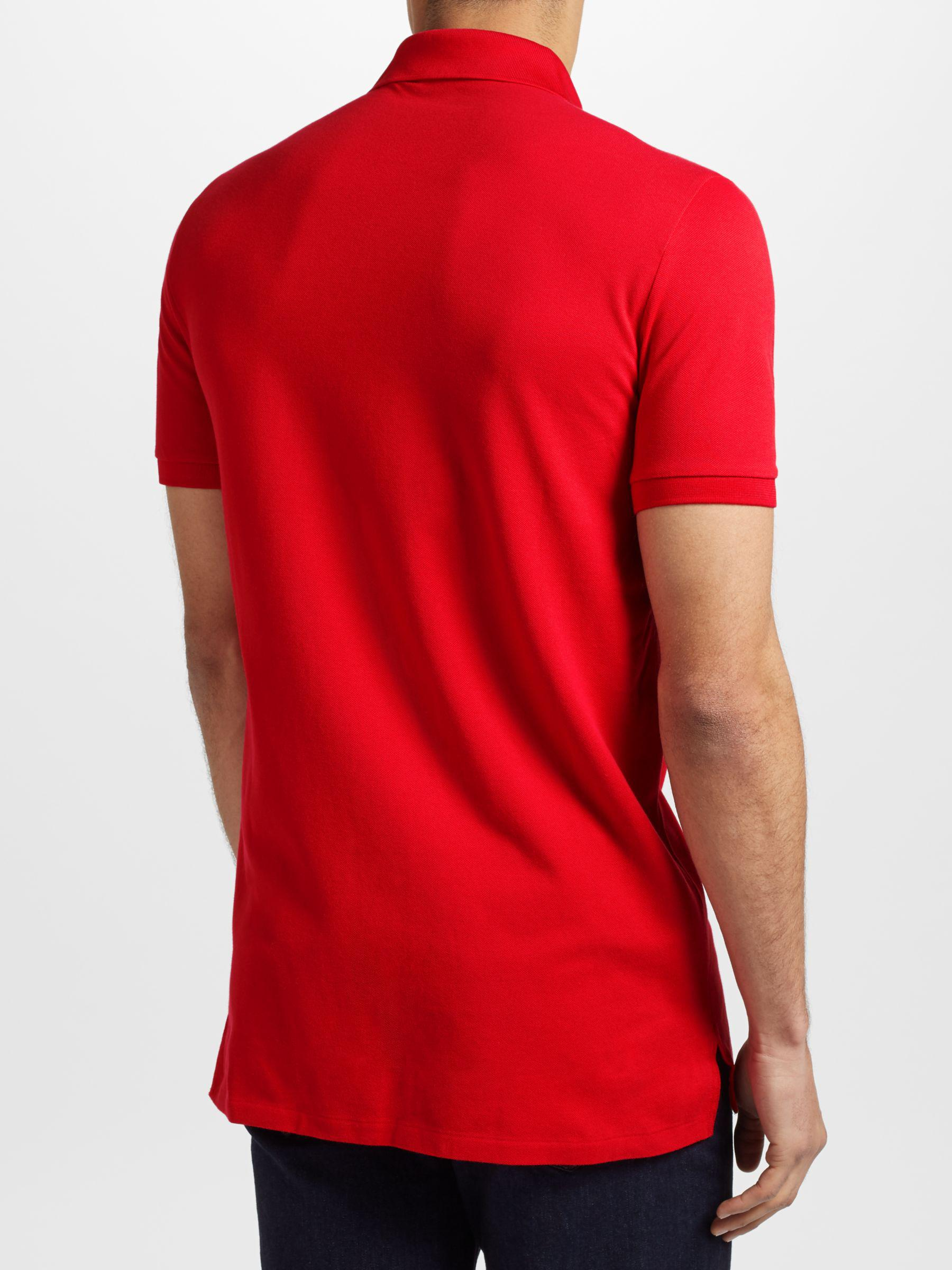 1323e3eb7406a6 Ralph Lauren Polo Golf By Pro-fit Polo Shirt in Red for Men - Lyst