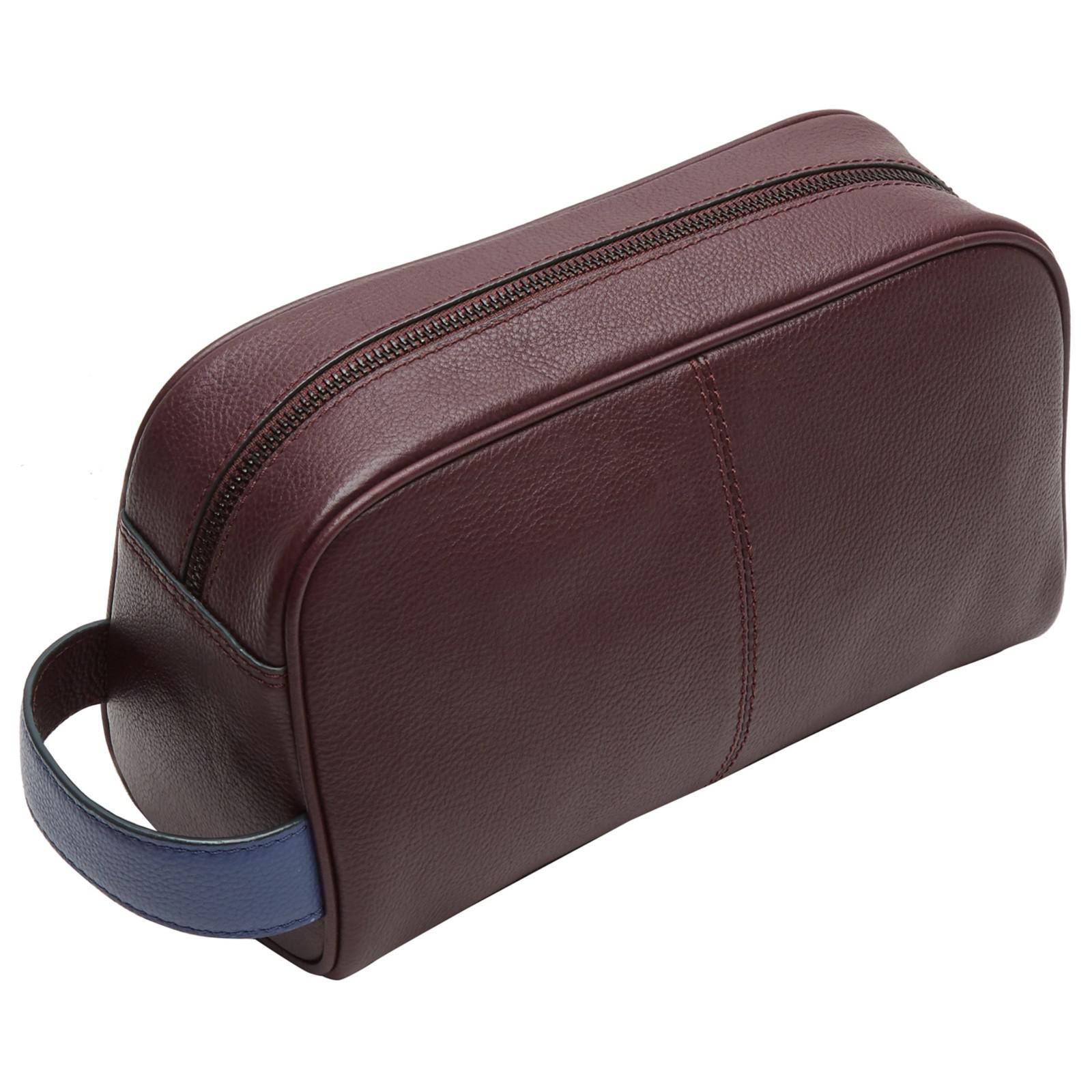 a8f808323 Ted Baker Moofasa Leather Wash Bag for Men - Lyst