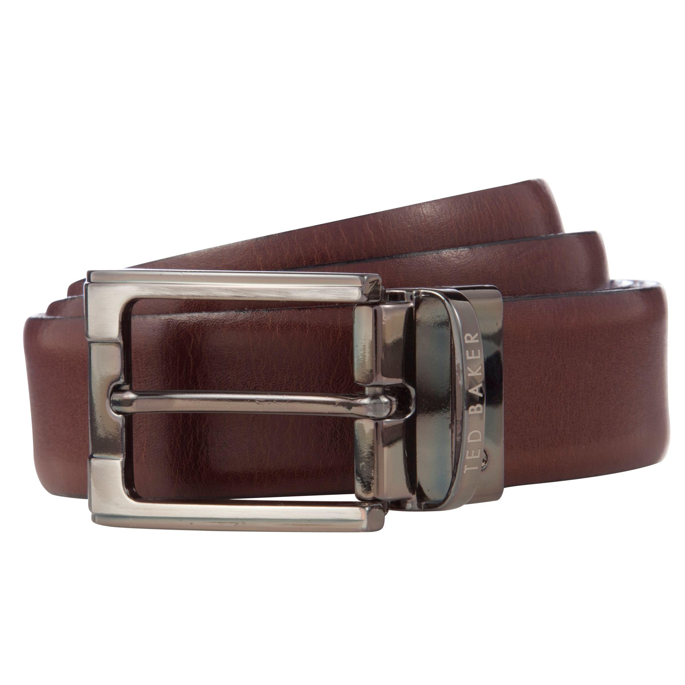 ee78aefc87d0a Ted Baker Crafti Smart Leather Reversible Belt in Brown for Men - Lyst