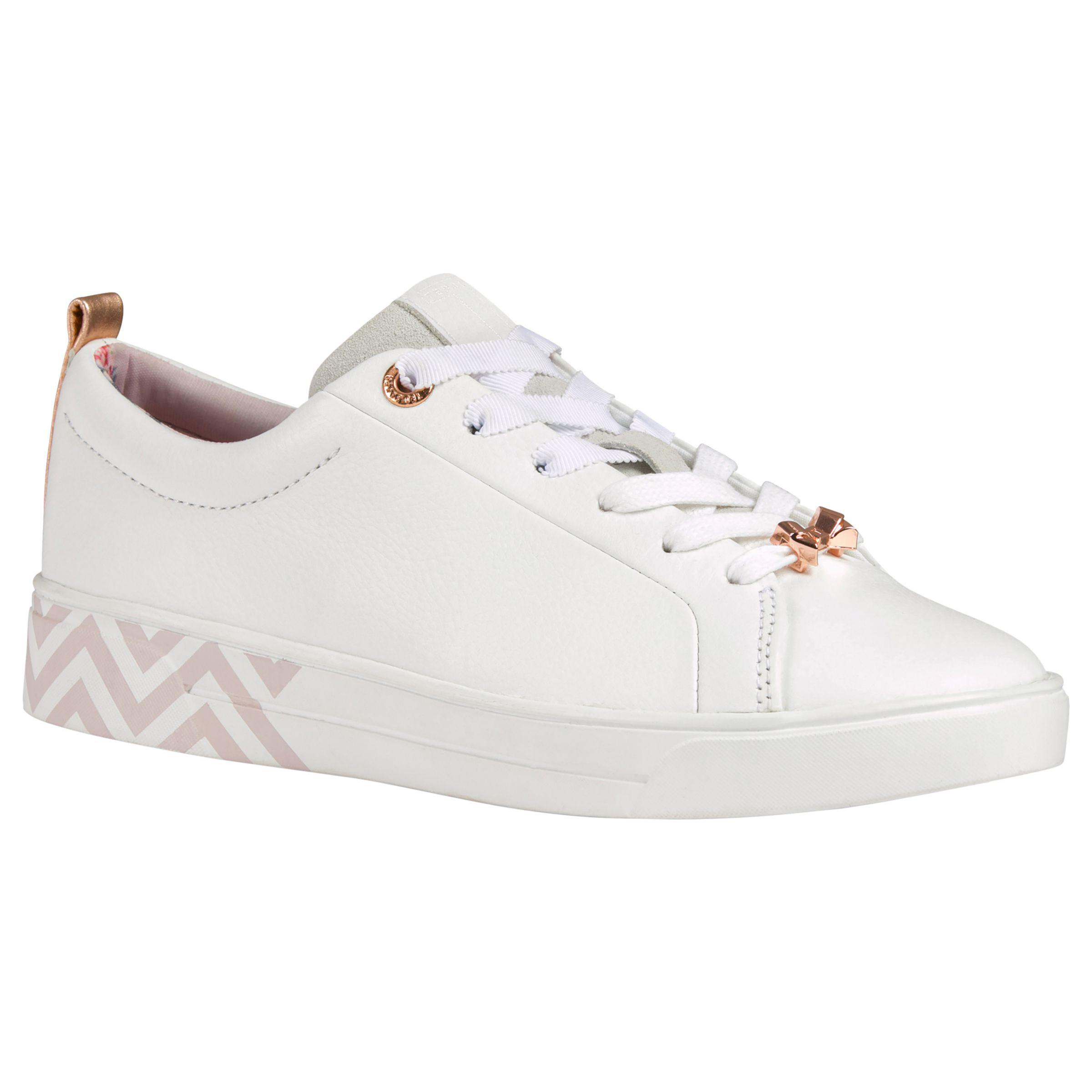 781a3c500718d1 Ted Baker Kelleip Low Top Trainers in White - Lyst