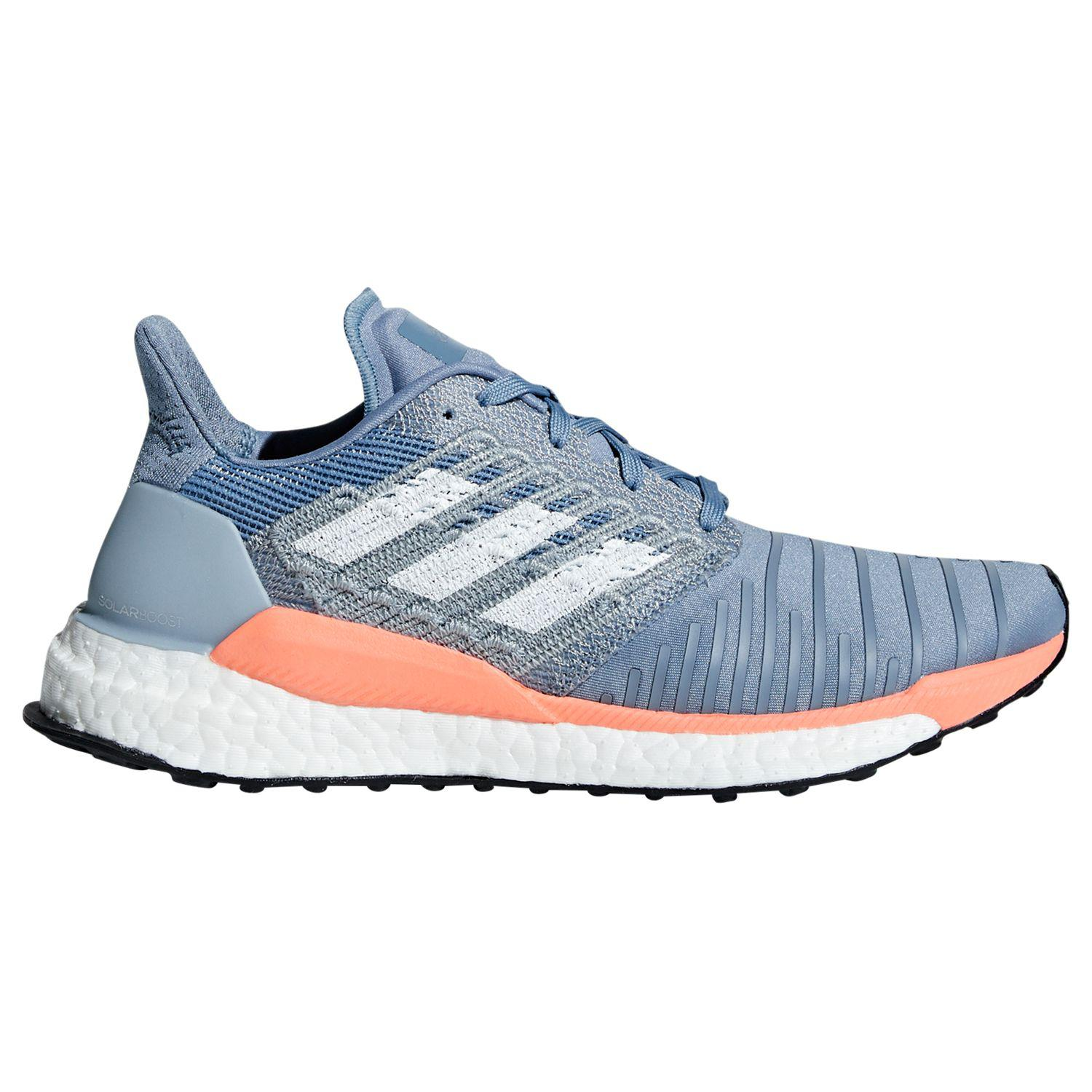 0ff5781f0f7d adidas Solar Boost Women s Running Shoes in Gray - Lyst
