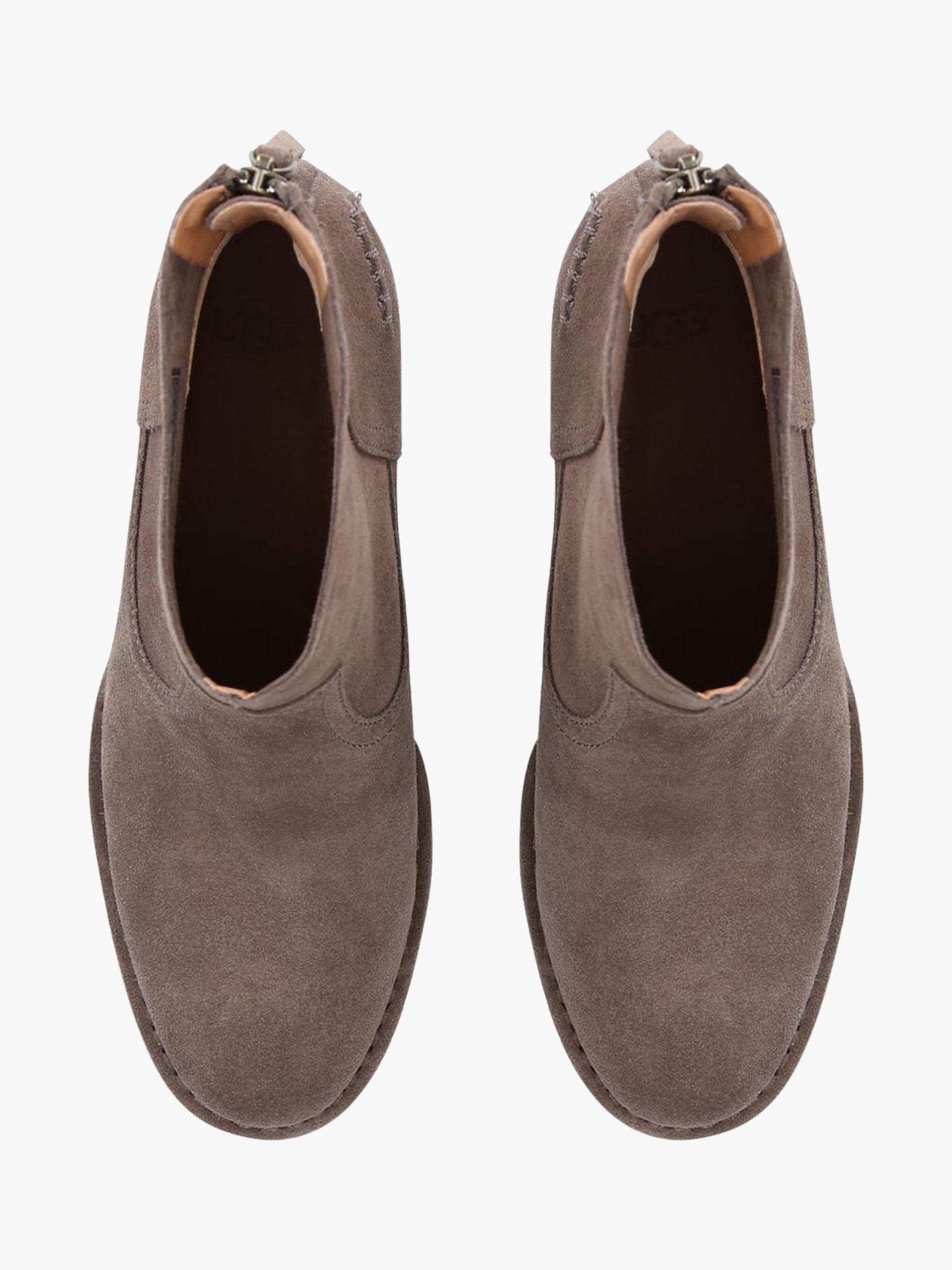 452defb2c8b UGG Bandara Block Heel Ankle Boots in Brown - Lyst
