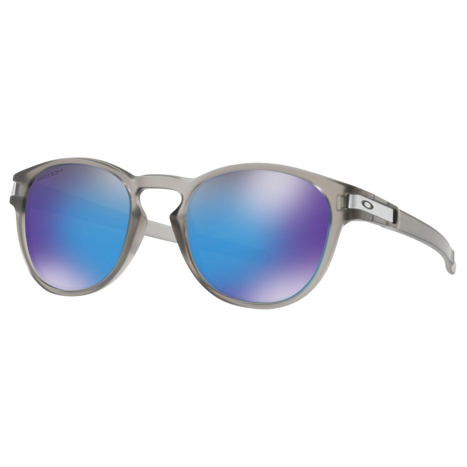 ad123a675e29e Oakley Latch Prizm Sunglasses in Blue for Men - Lyst