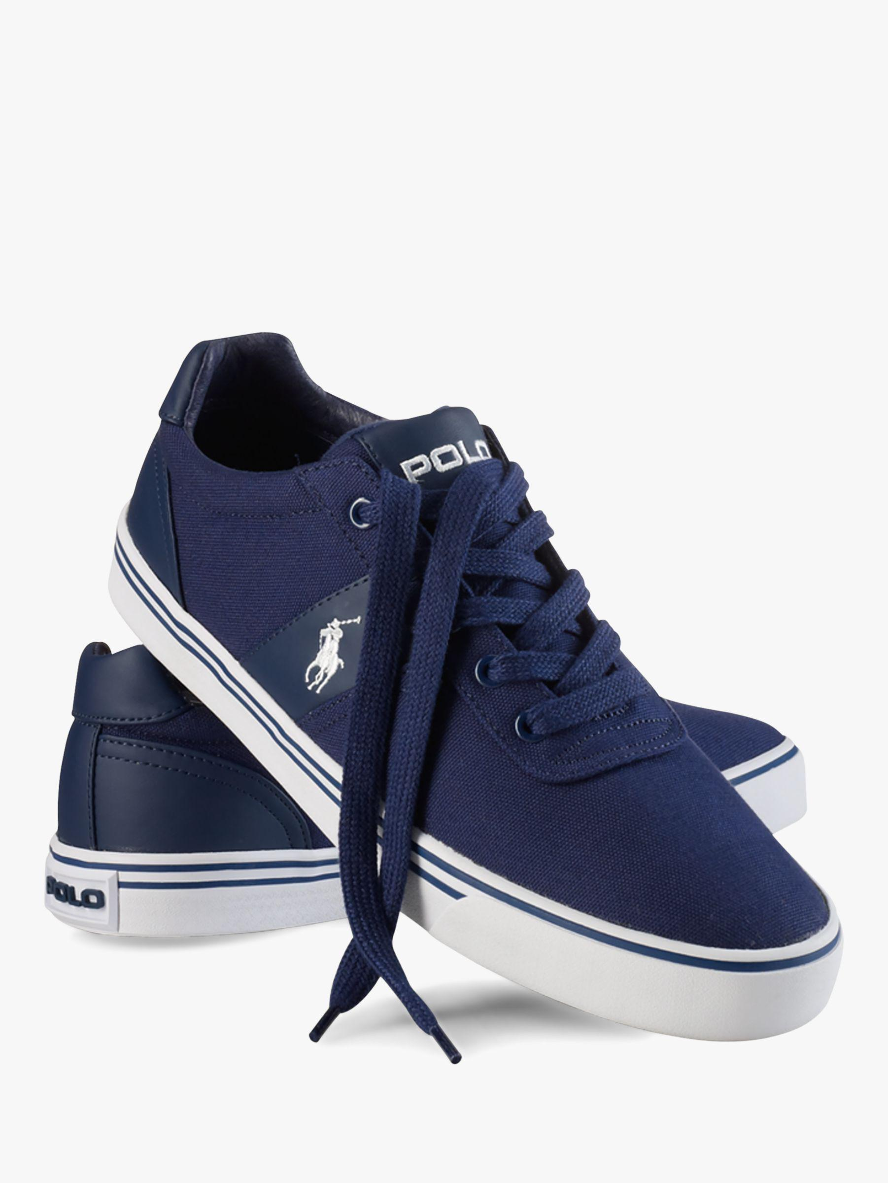ee51c2ef4d5a Ralph Lauren Polo Hanford Canvas Trainers in Blue for Men - Save 24 ...
