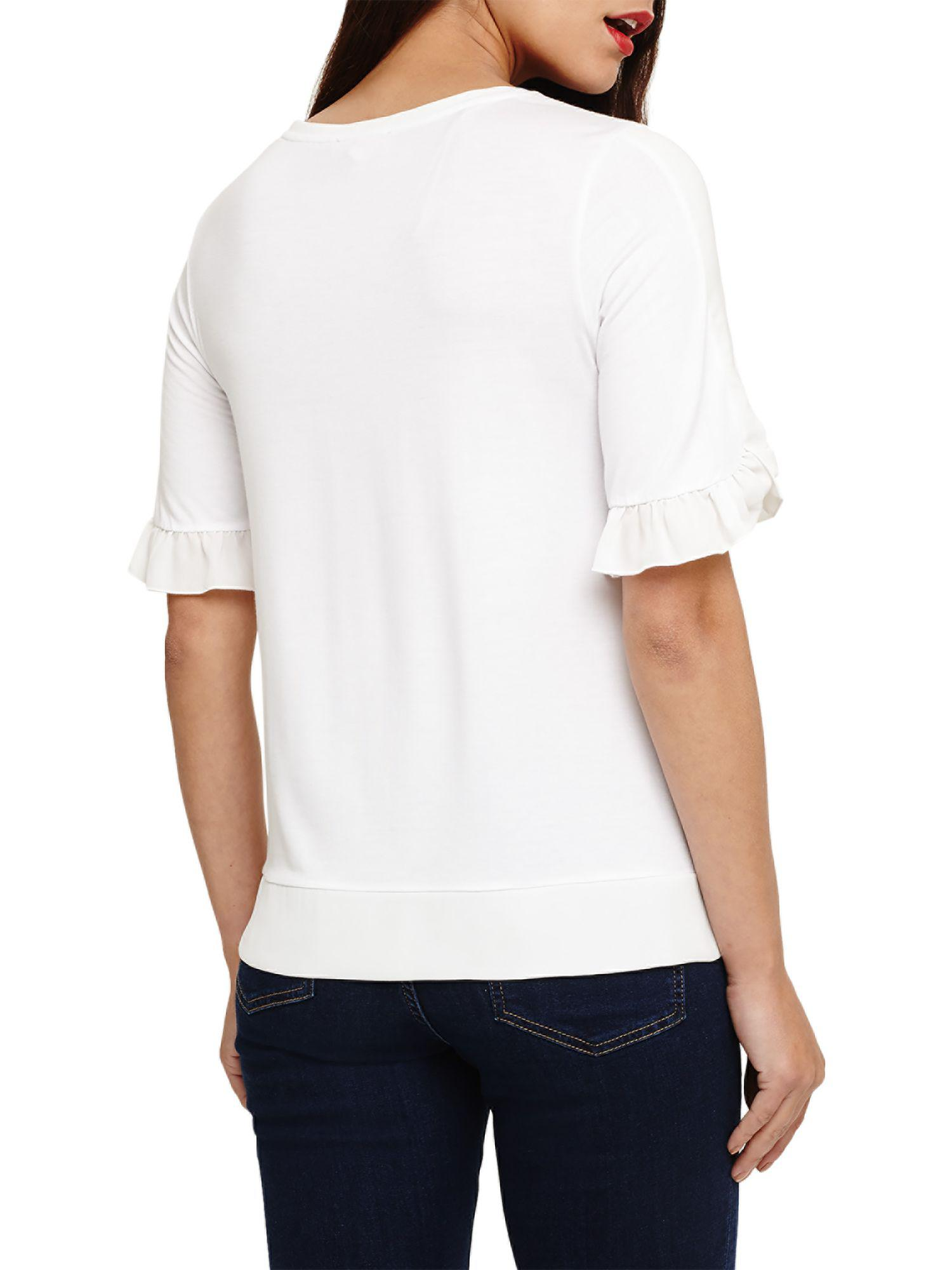 Cheap Sale Visit Phase Eight Finley Frill Sleeve Top Discount Visit New Huge Surprise Sale Online Free Shipping New aU1pprA