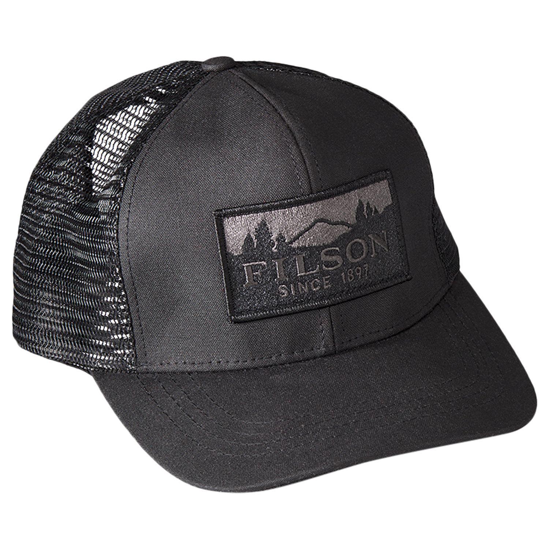 6d11f82e50f Filson Logger Mesh Baseball Cap in Black for Men - Lyst