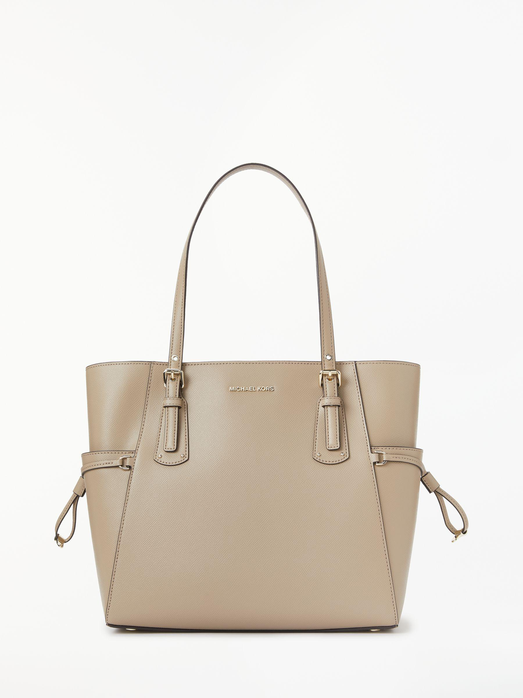7601215948f5 Michael Kors - Multicolor Michael Voyager East West Leather Tote Bag - Lyst.  View fullscreen