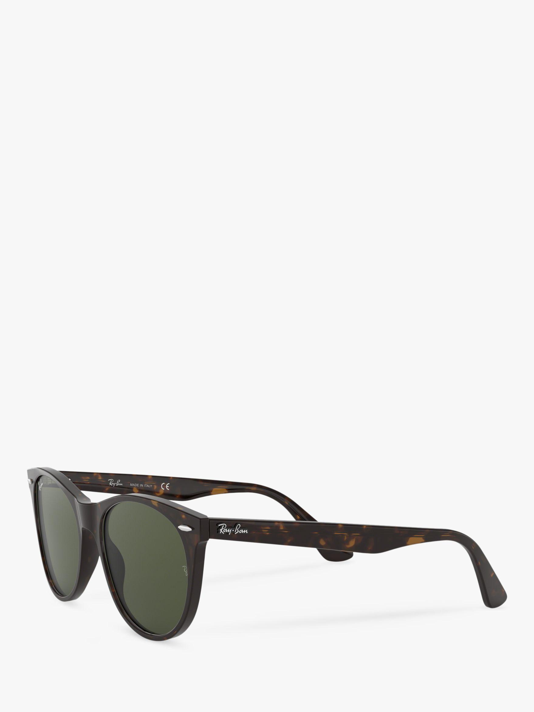 f3a8dfc2a7 Ray-Ban Rb2185 Women s Wayfarer Ii Evolve Sunglasses in Green - Lyst