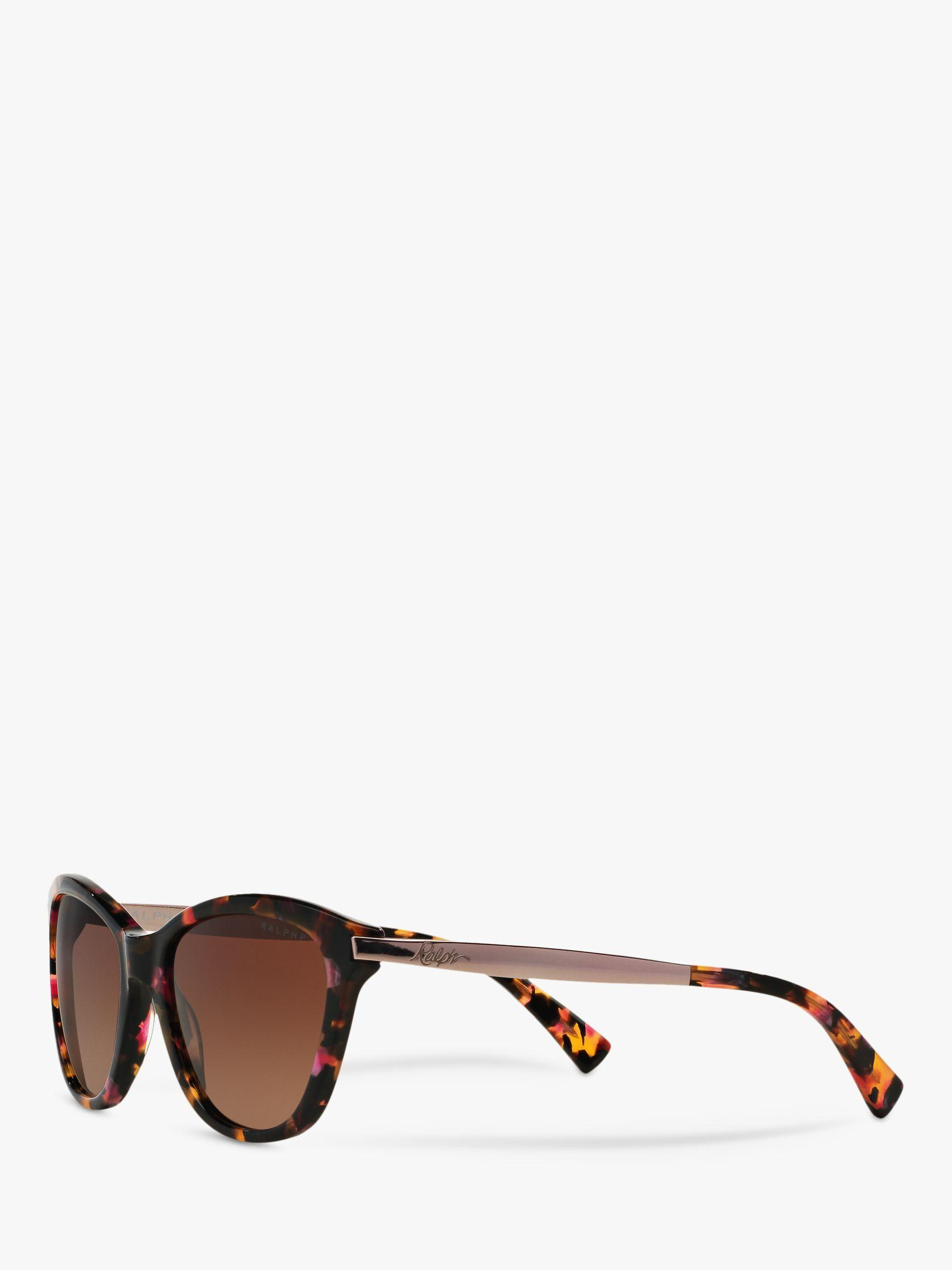 ccc9a337d5 Ralph Lauren - Brown Ralph Ra5201 Polarised Cat s Eye Sunglasses - Lyst.  View fullscreen