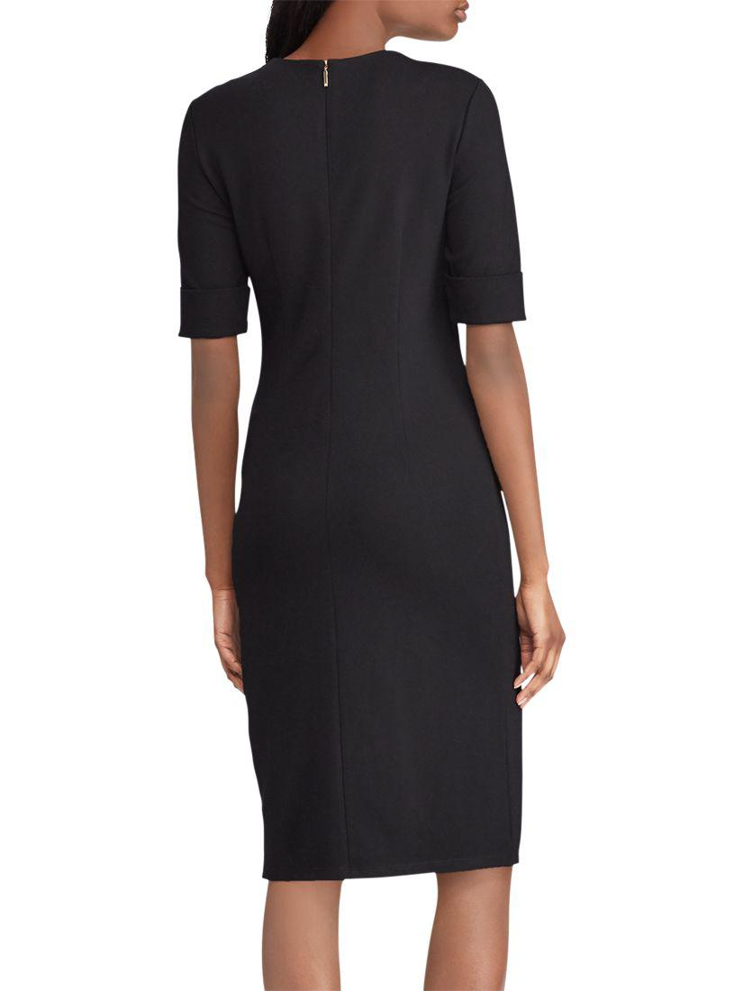 Raena Dress In Lauren Black Ralph Lyst Ponte qpnBvfTz
