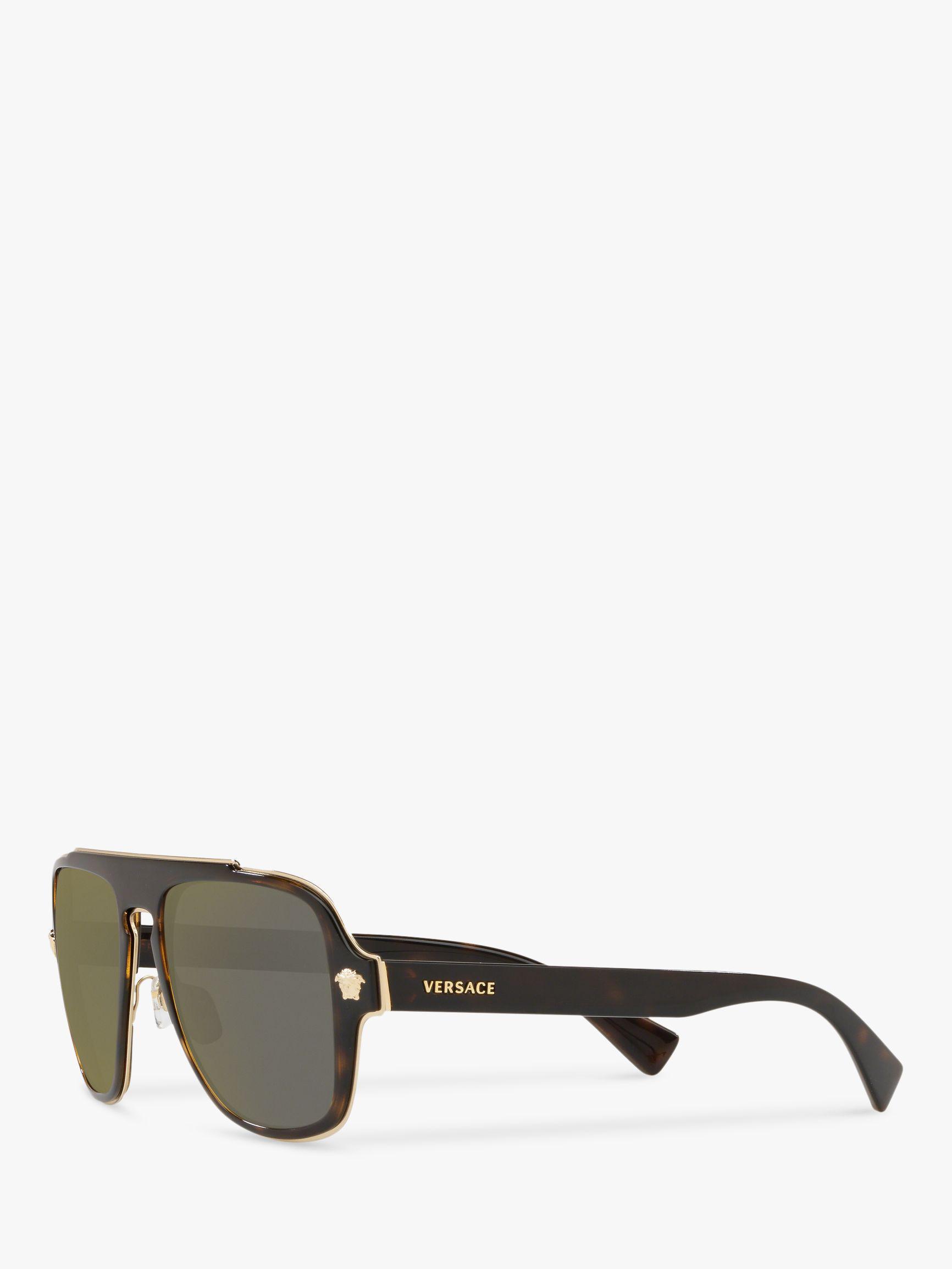1ed1351400 Versace Ve2199 Men s Geometric Sunglasses for Men - Lyst
