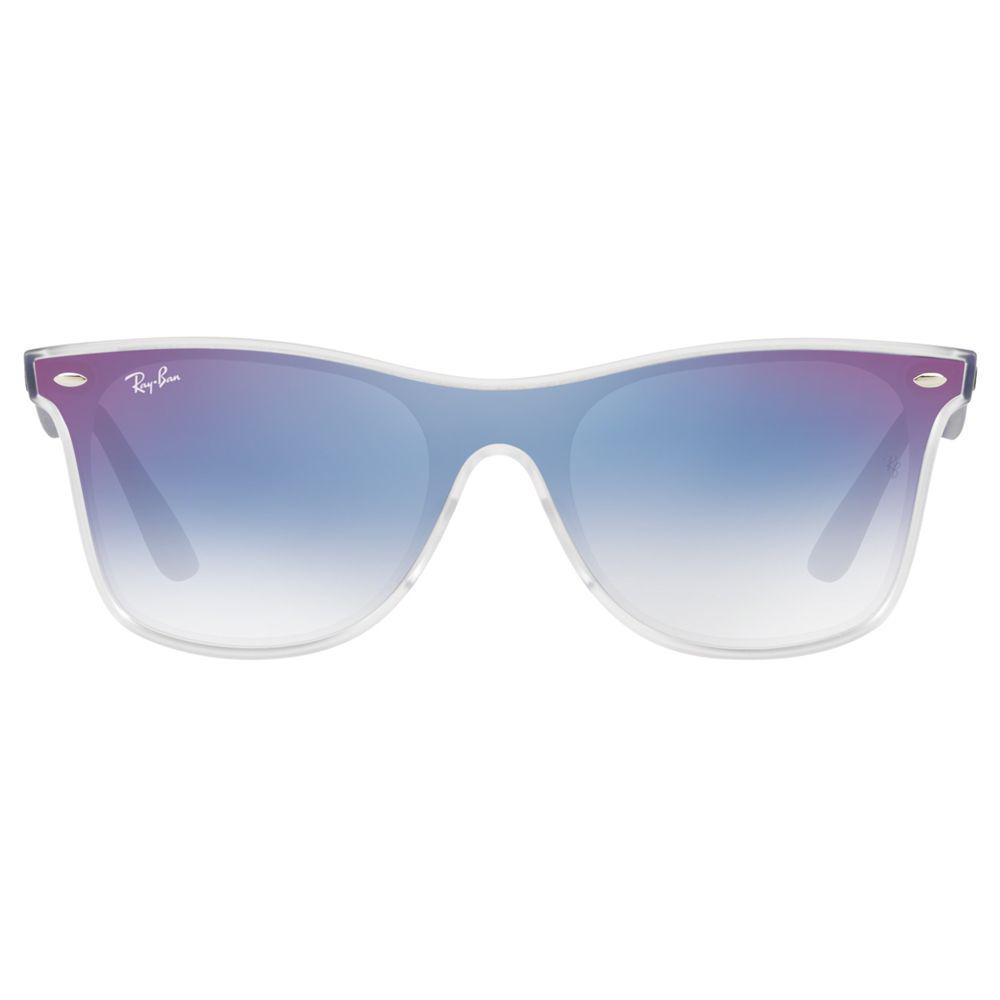 2fe6bc0756 Ray-Ban Rb4440 Unisex Polarised Mirrored Sunglasses in Blue - Lyst