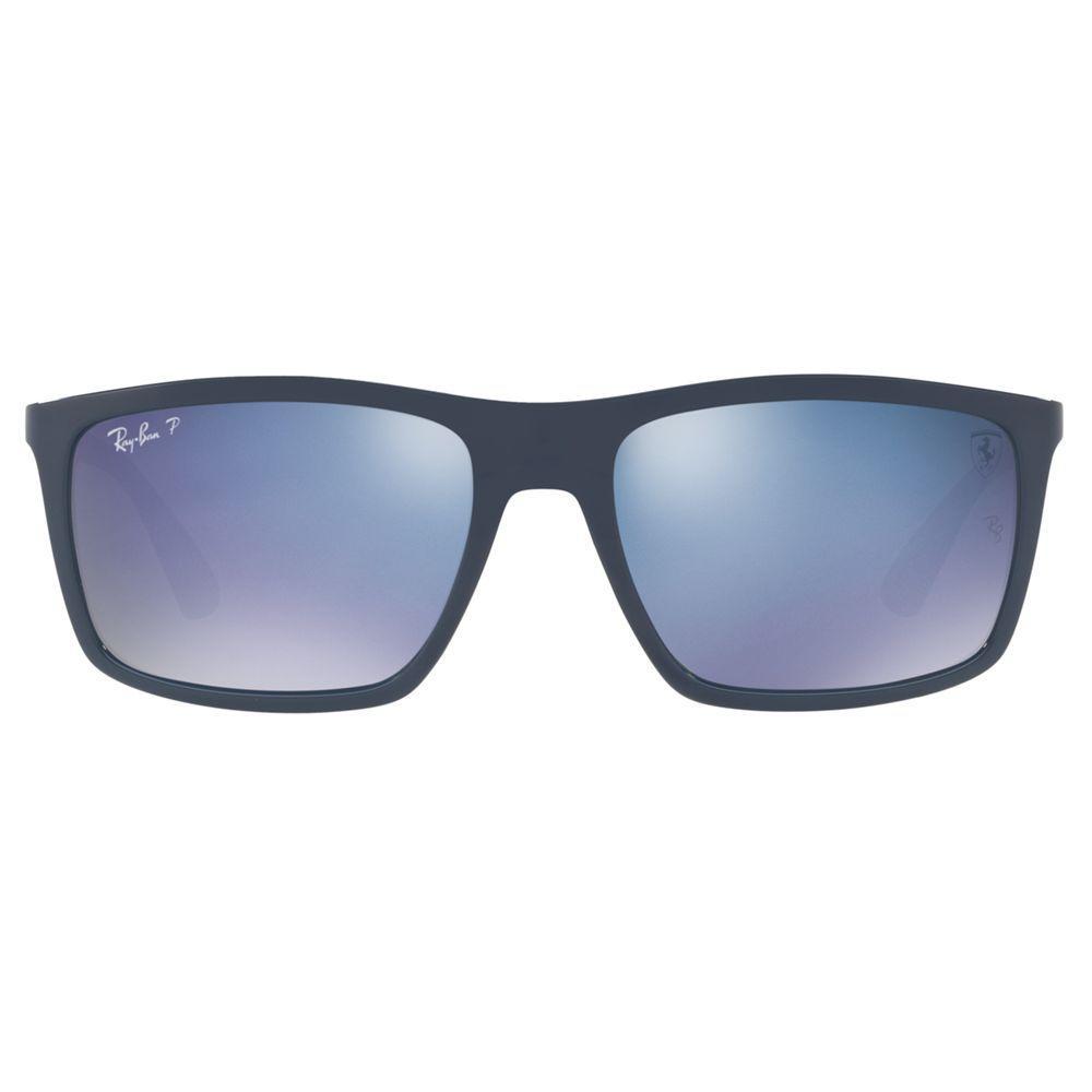 c95c5a0296 Ray-Ban Rb4228 Men s Polarised Rectangular Sunglasses for Men - Lyst