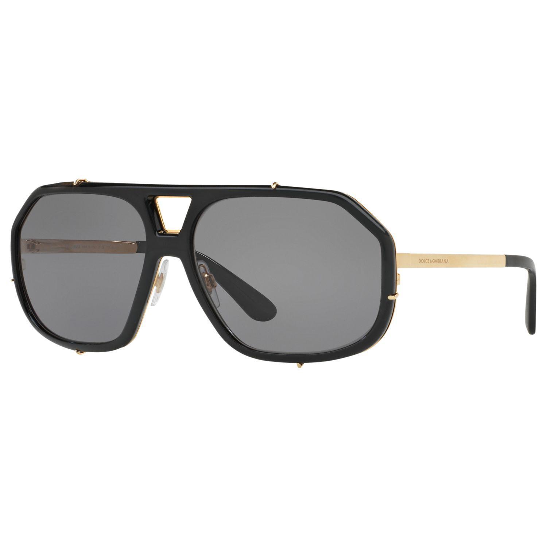0a5d1a1f86ed1 Dolce   Gabbana Dg2167 Polarised Aviator Sunglasses for Men - Lyst