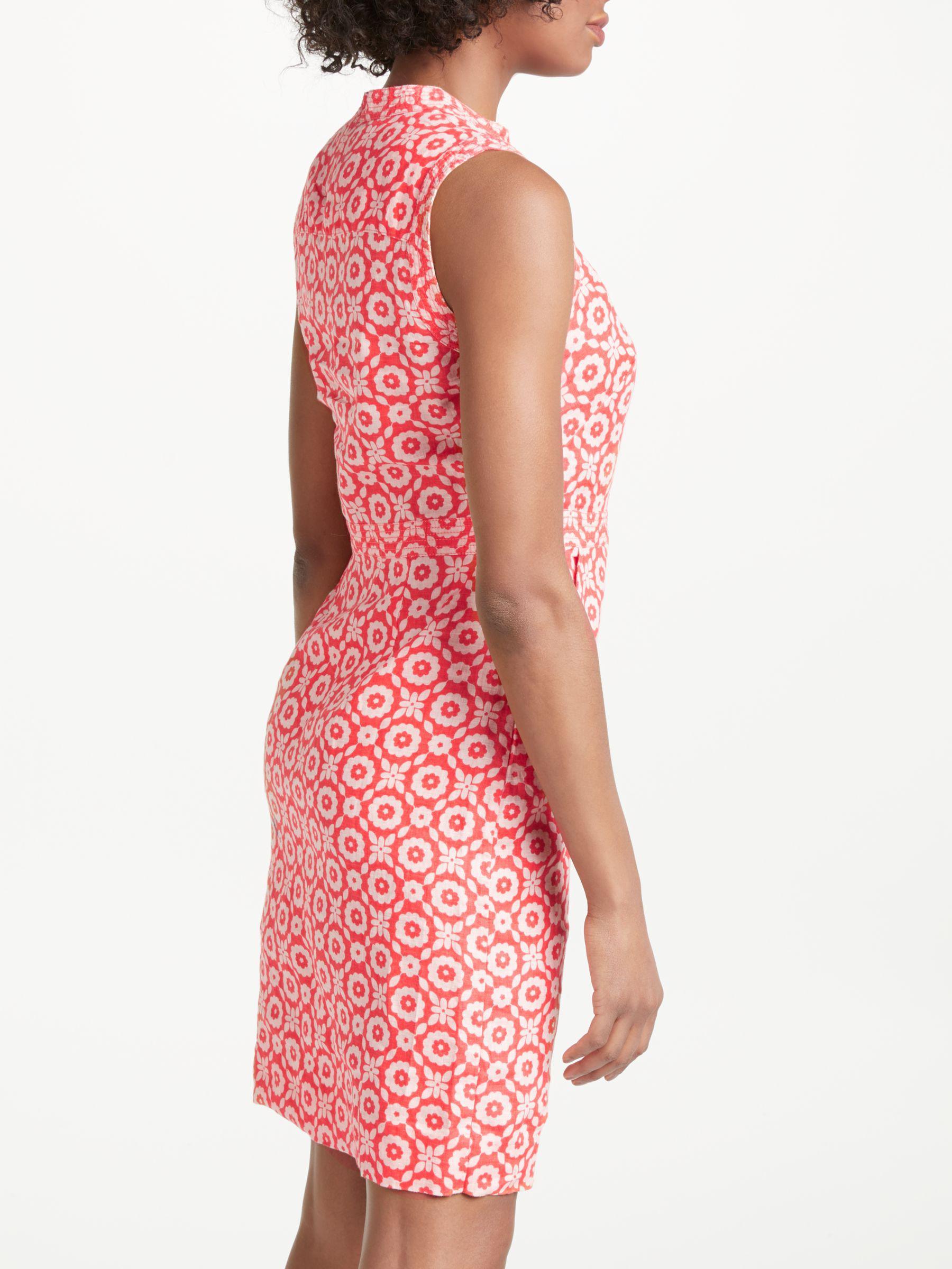 e8350199c0 Boden Linen Notch Neck Dress - Lyst