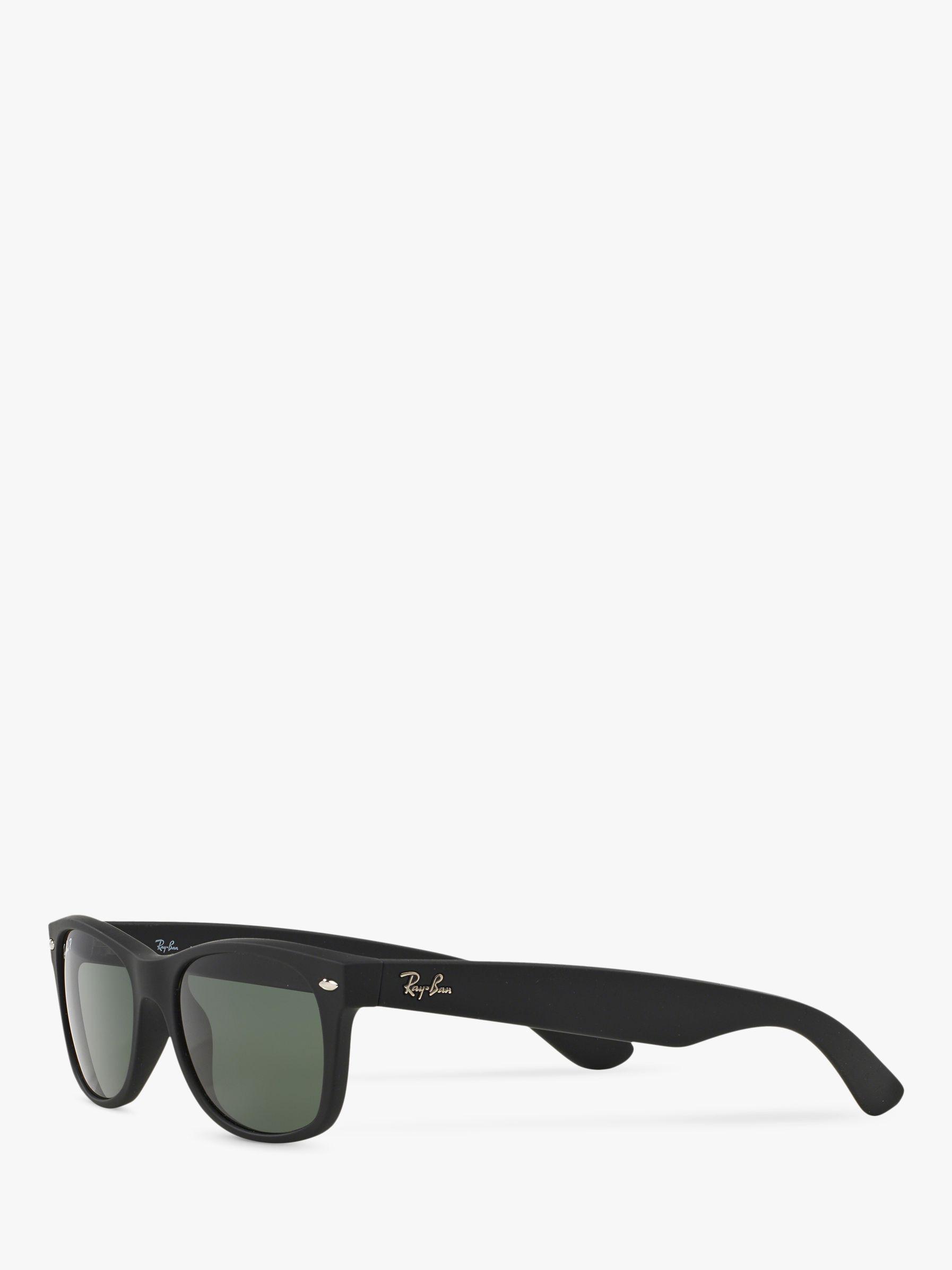 660ac2f3de Ray-Ban Rb2132 Men s New Wayfarer Polarised Sunglasses in Black for Men -  Lyst