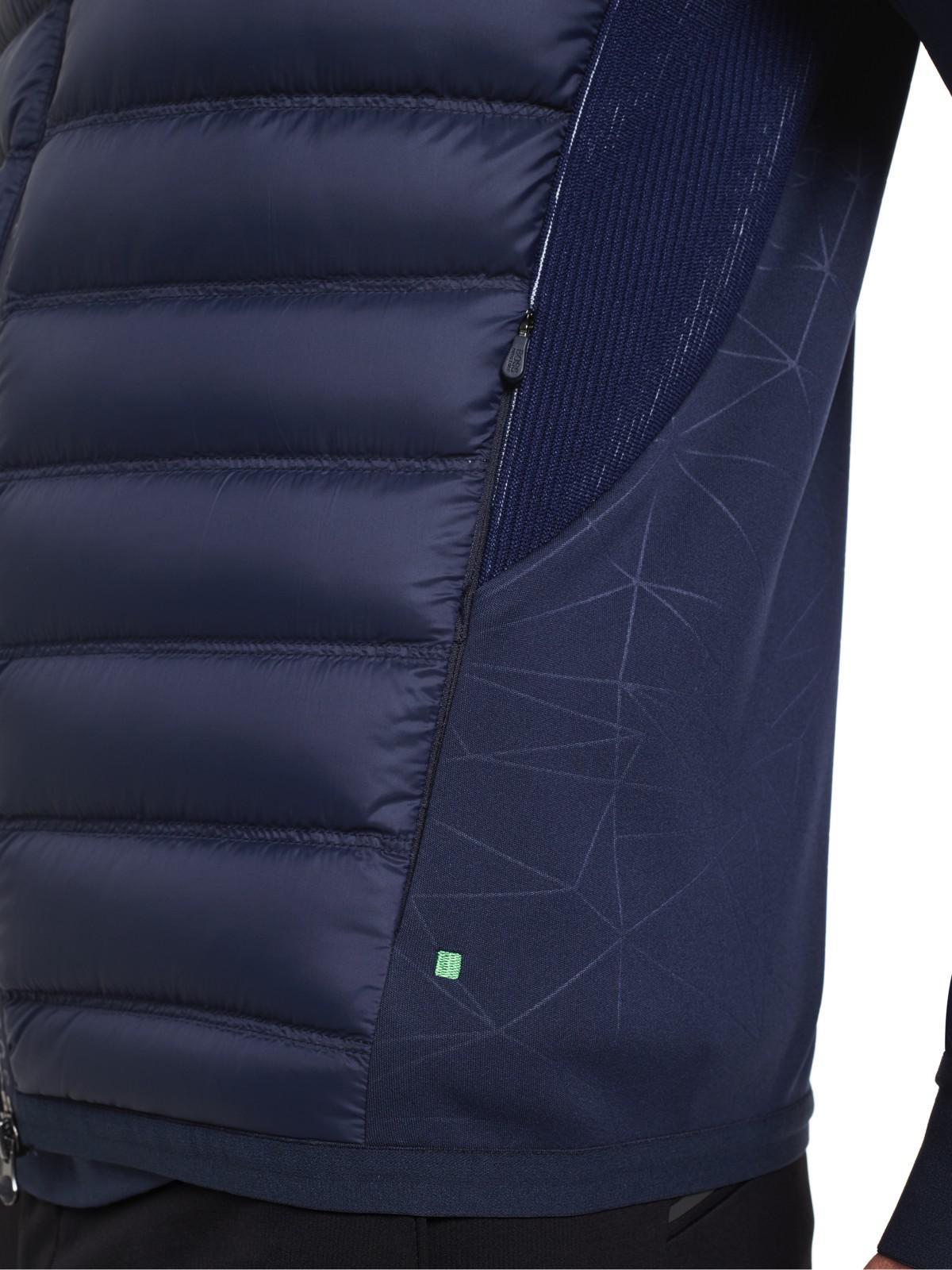 34e379000 BOSS Boss Green Pro Golf Jalmstad Pro Padded Jacket in Blue for Men ...