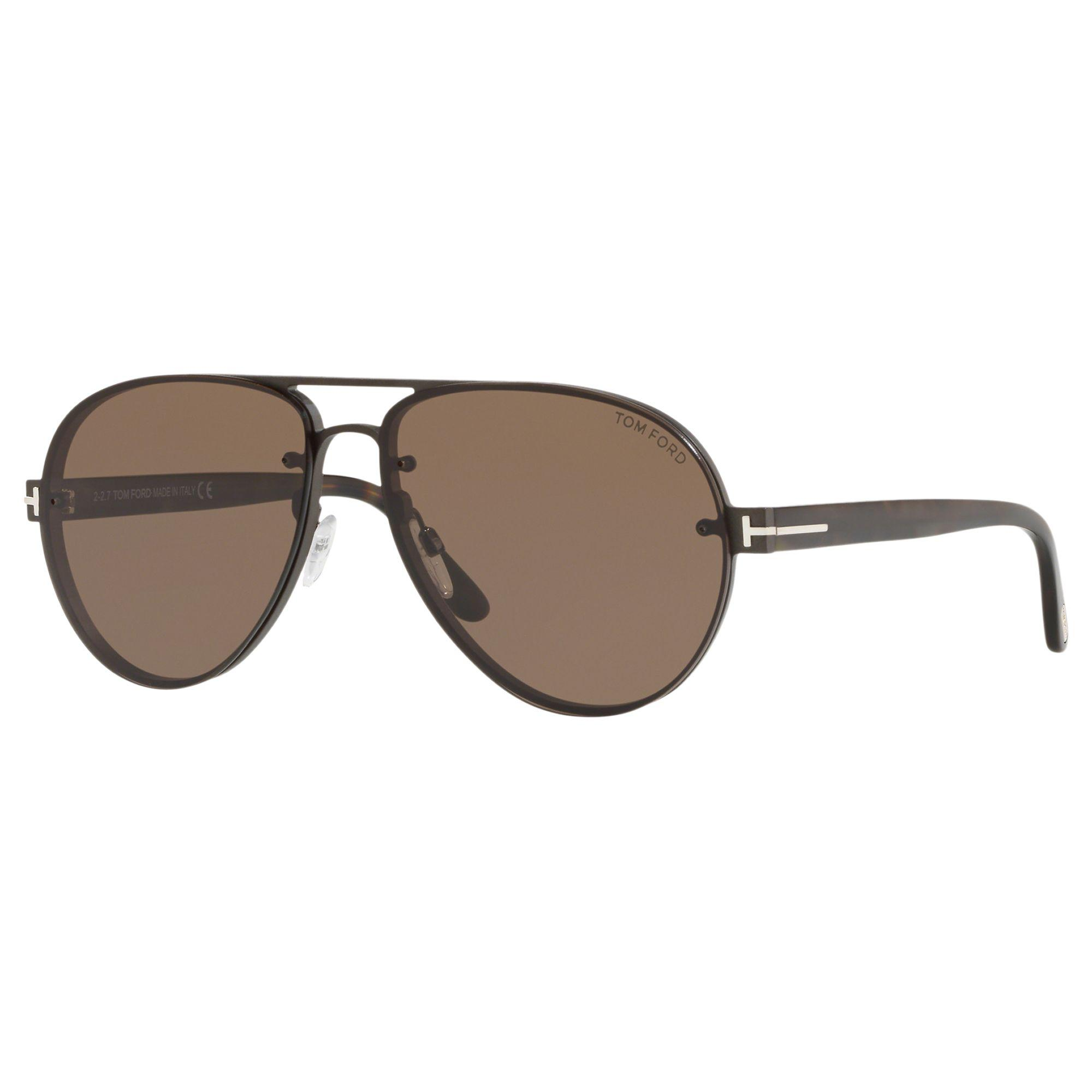 9c481d0508c8 Tom Ford Ft0622 Men s Alexei-02 Aviator Sunglasses in Brown for Men ...