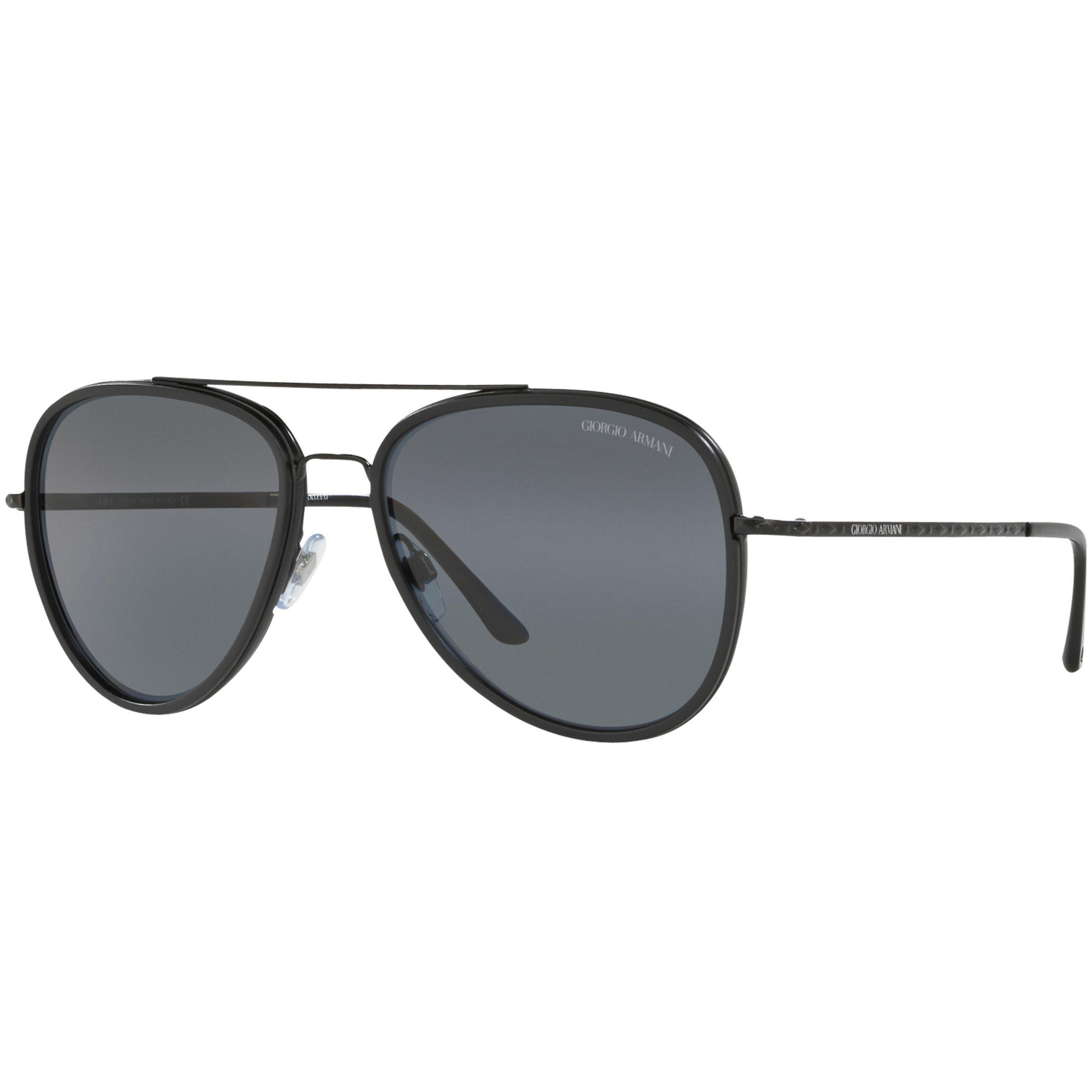 45a6f10e2e Giorgio Armani Ar6039 Polarised Frames Of Life Aviator Sunglasses in ...