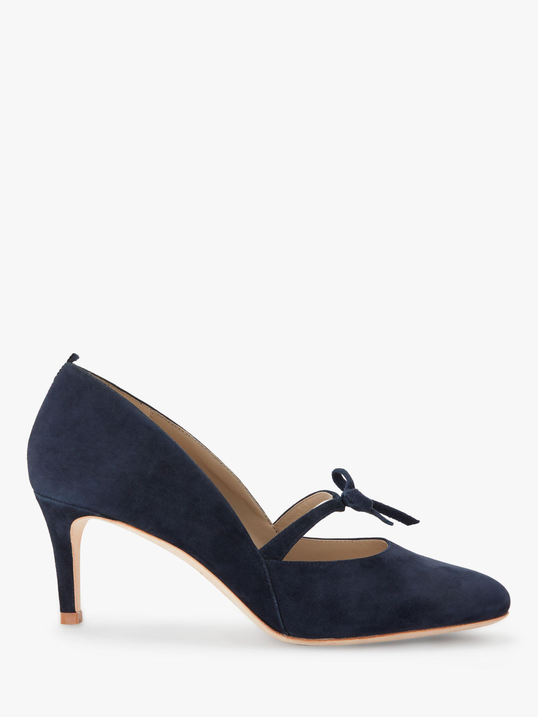 9019eb28642 Boden Anthea Bow Detail Court Shoes in Blue - Lyst