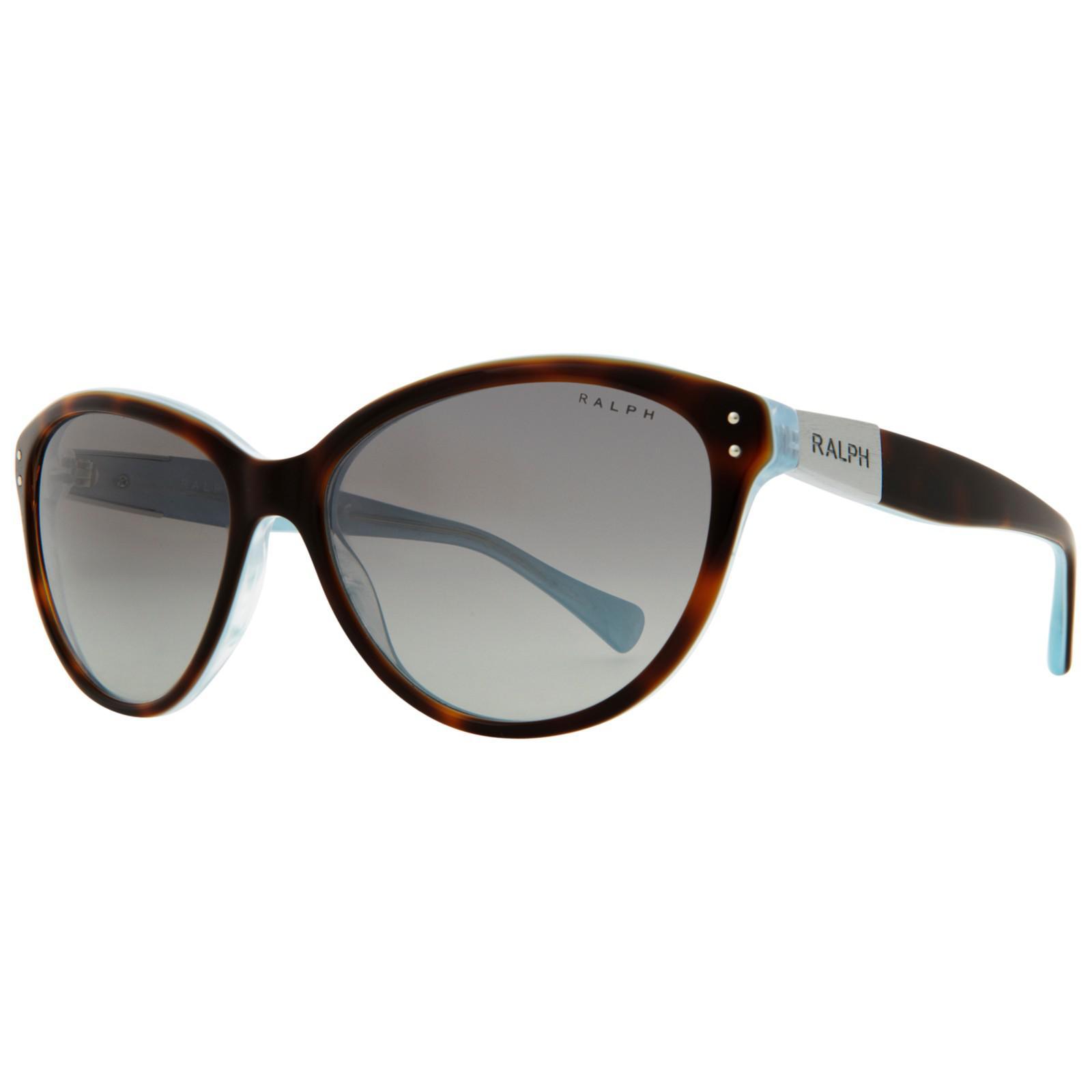 a0dee49154 Ralph Lauren Ralph Ra5168 Cat s Eye Framed Sunglasses in Gray - Lyst
