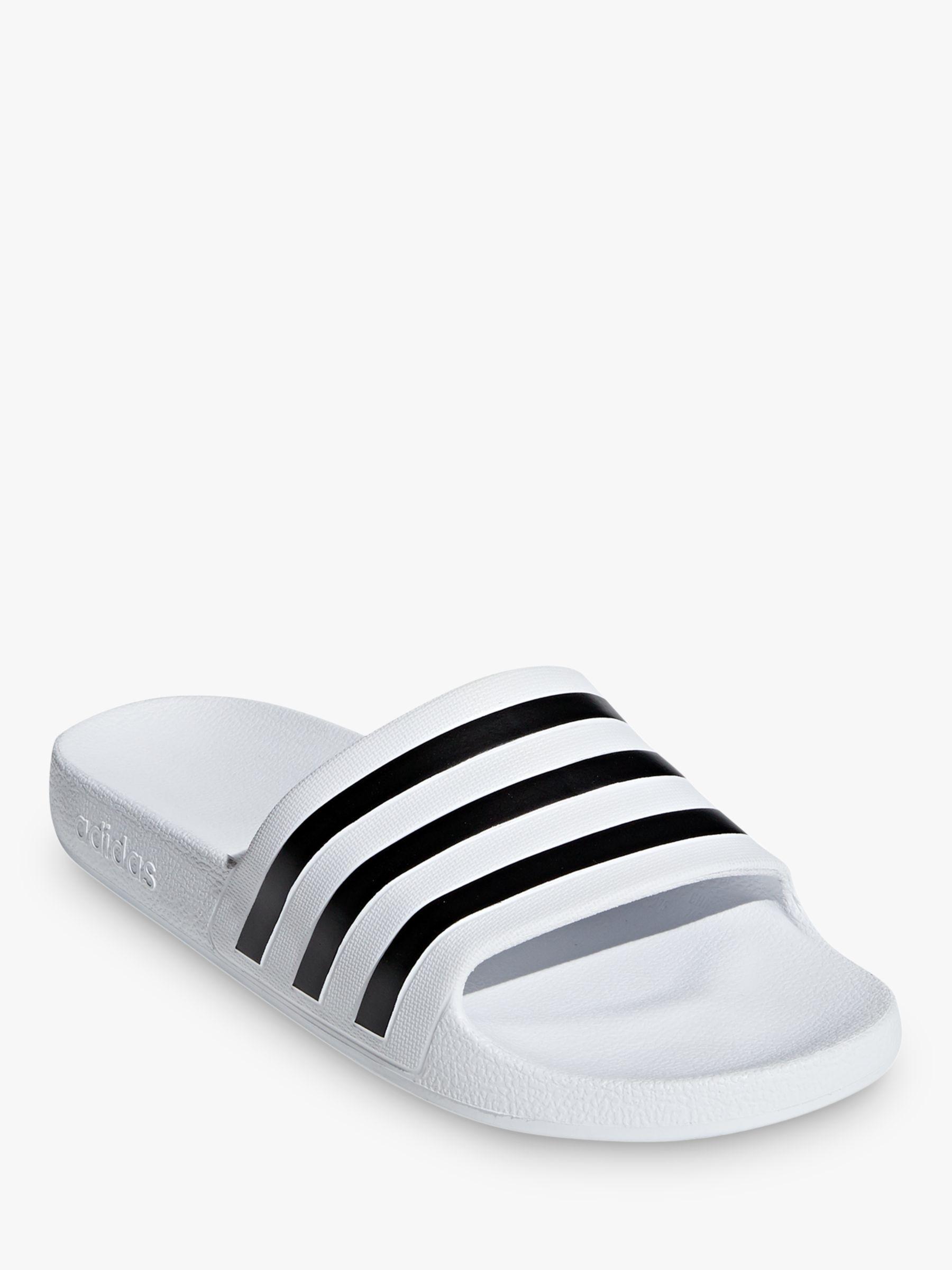4e0b0134aaab adidas Adilette Aqua Women s Slides Slippers in Black - Lyst