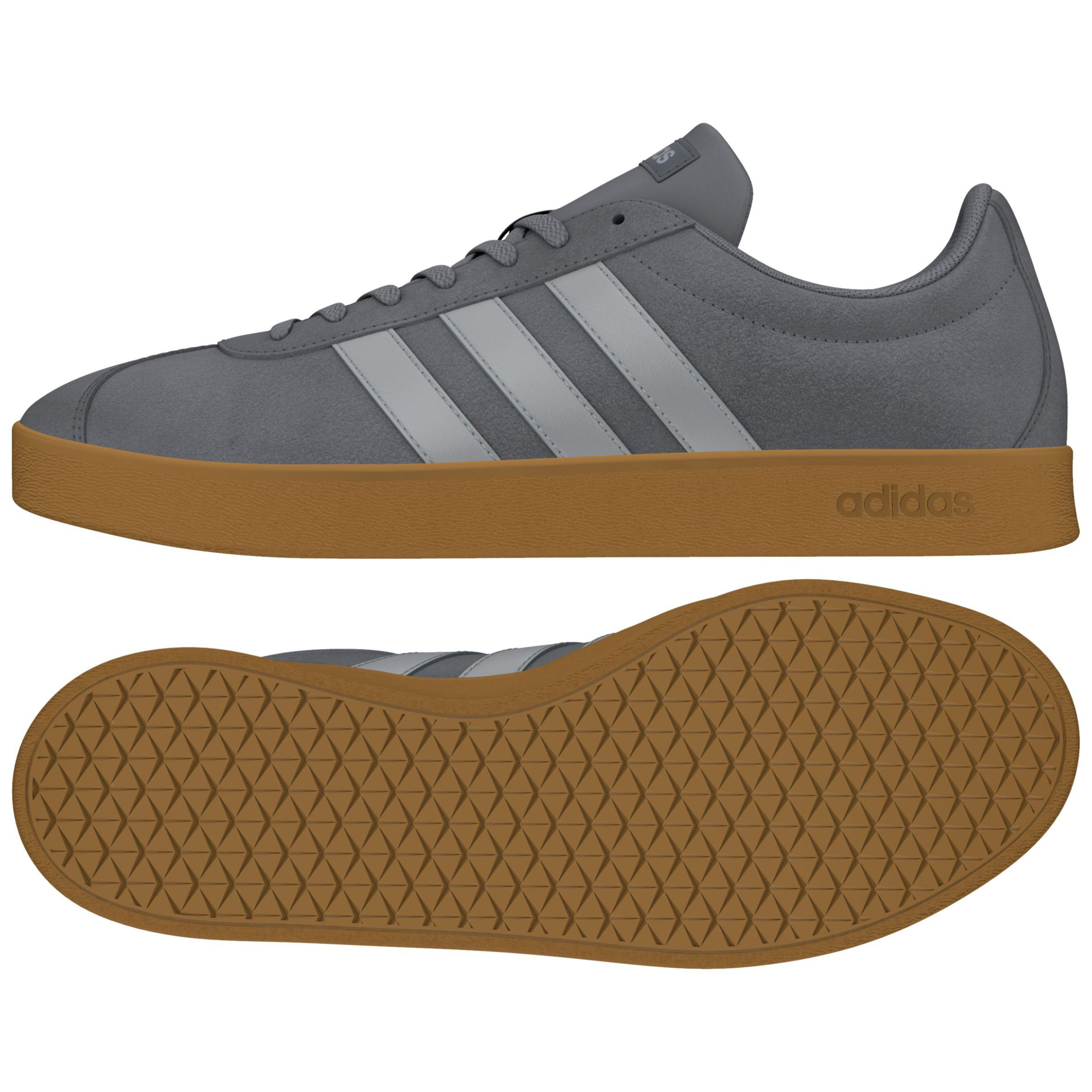 Suede Gray Trainers In Neo 0 Court Men For Men's Vl Lyst 2 Adidas fwXB4qf