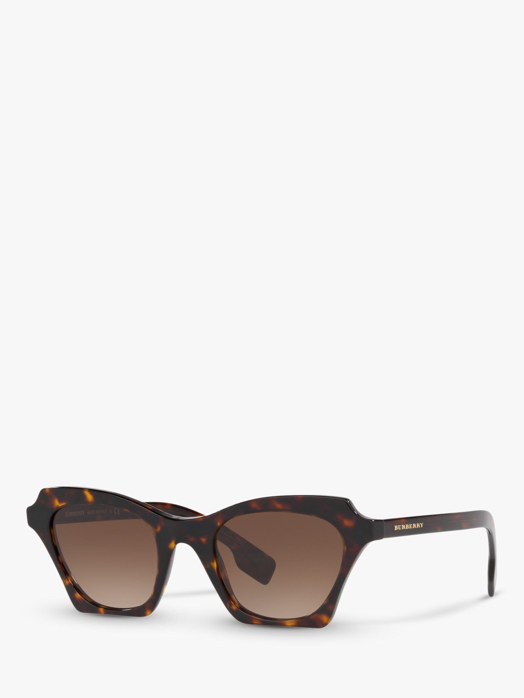 fd64320d2e5f Burberry - Brown Be4283 Women s Square Sunglasses - Lyst. View fullscreen