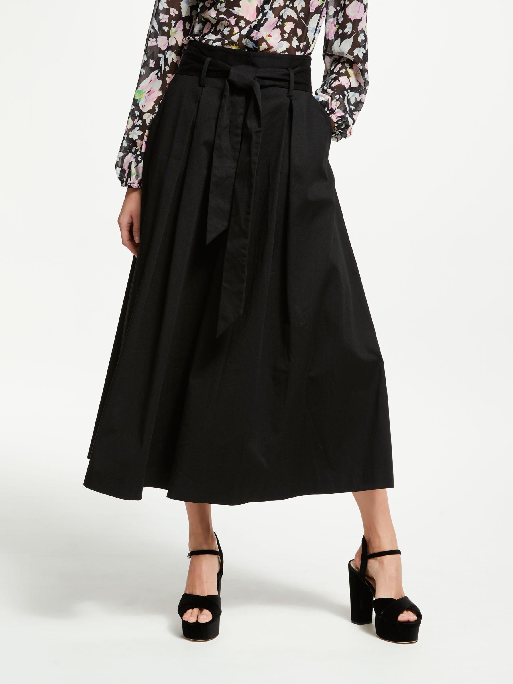 1035fe582012 Somerset by Alice Temperley Tie Waist Culottes in Black - Lyst