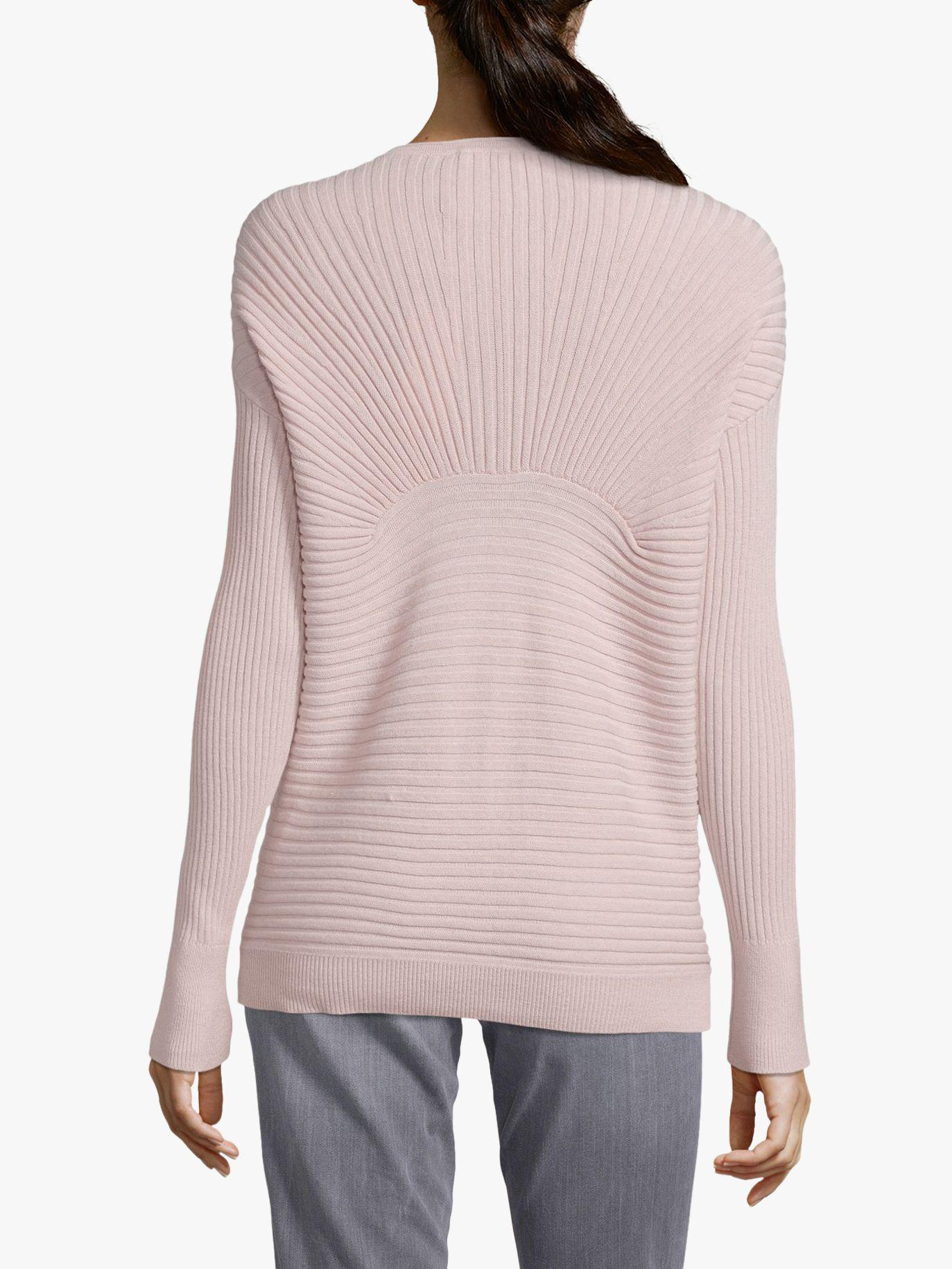 Betty Barclay - Pink Multi Texture Ribbed Knit Jumper - Lyst. View  fullscreen f82450123