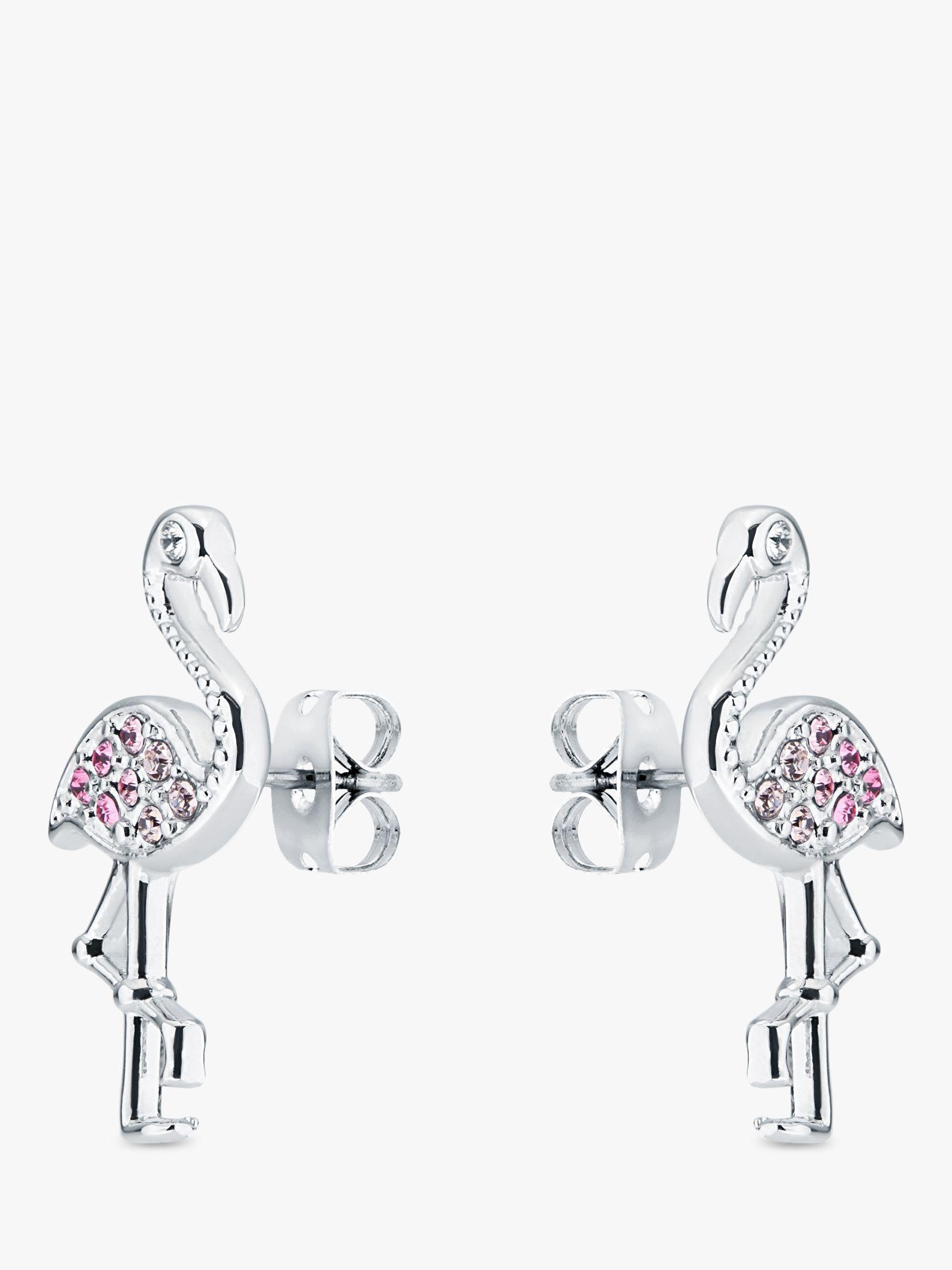 Ted Baker Faei Swarovski Crystal Ombre Flamingo Stud