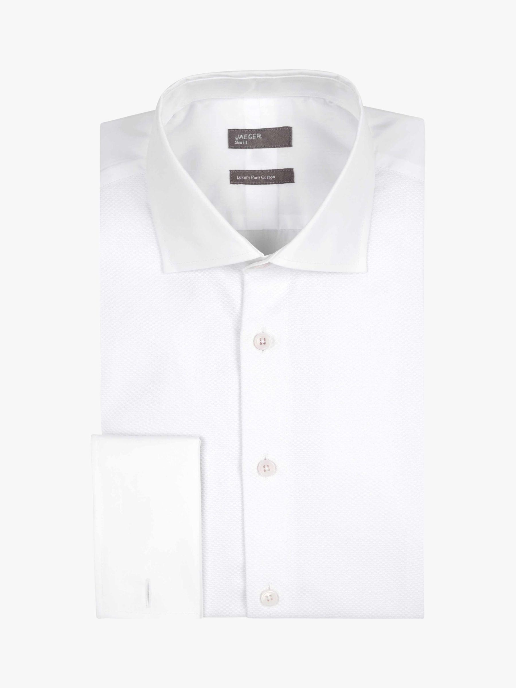 86ae5839bac Jaeger - White Marcella Formal Bib Shirt for Men - Lyst. View fullscreen
