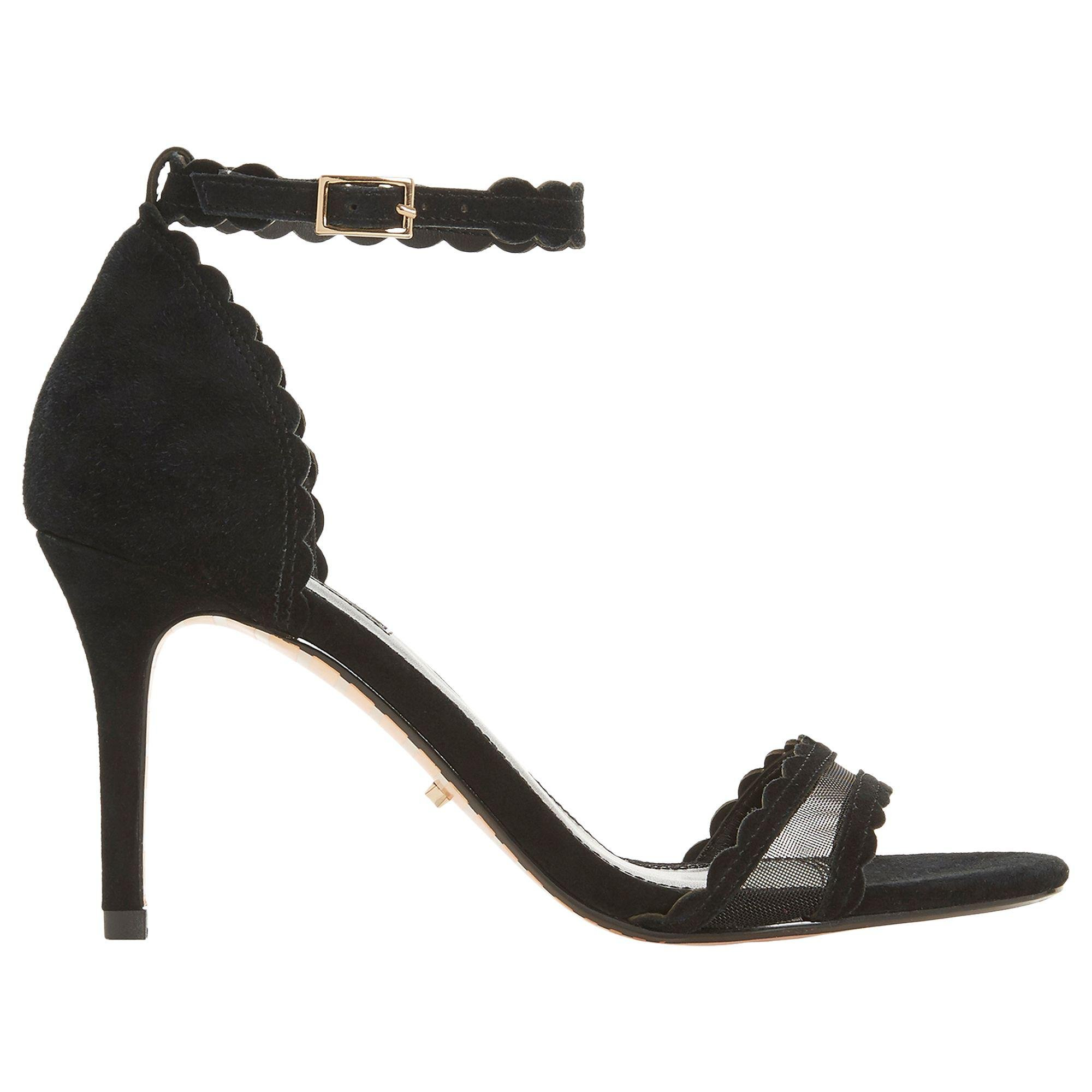 1d272dc71daf Dune Maam Open Toe Sandals in Black - Lyst