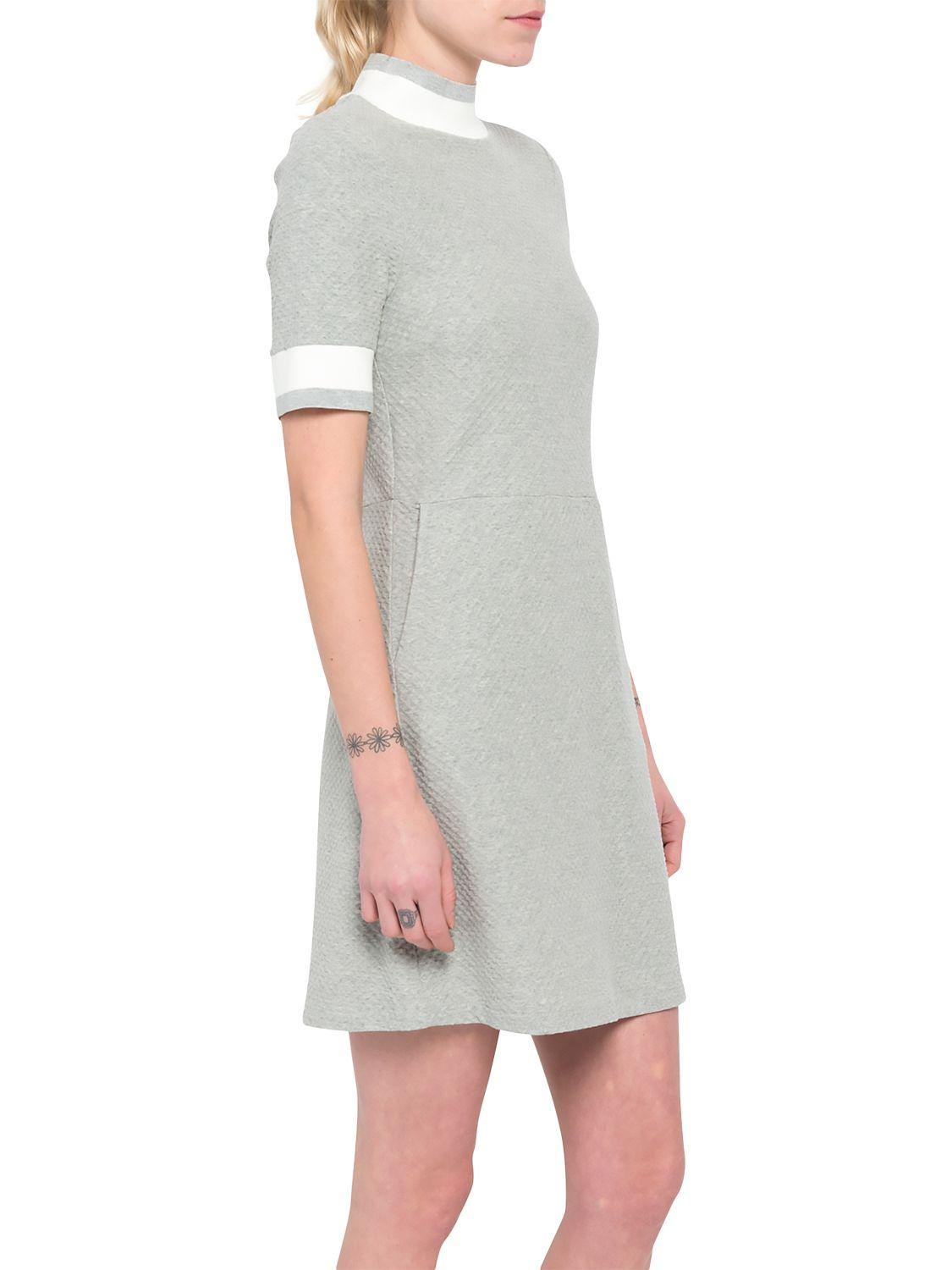 3615980b9f French Connection Savos Tunic Dress in Gray - Lyst