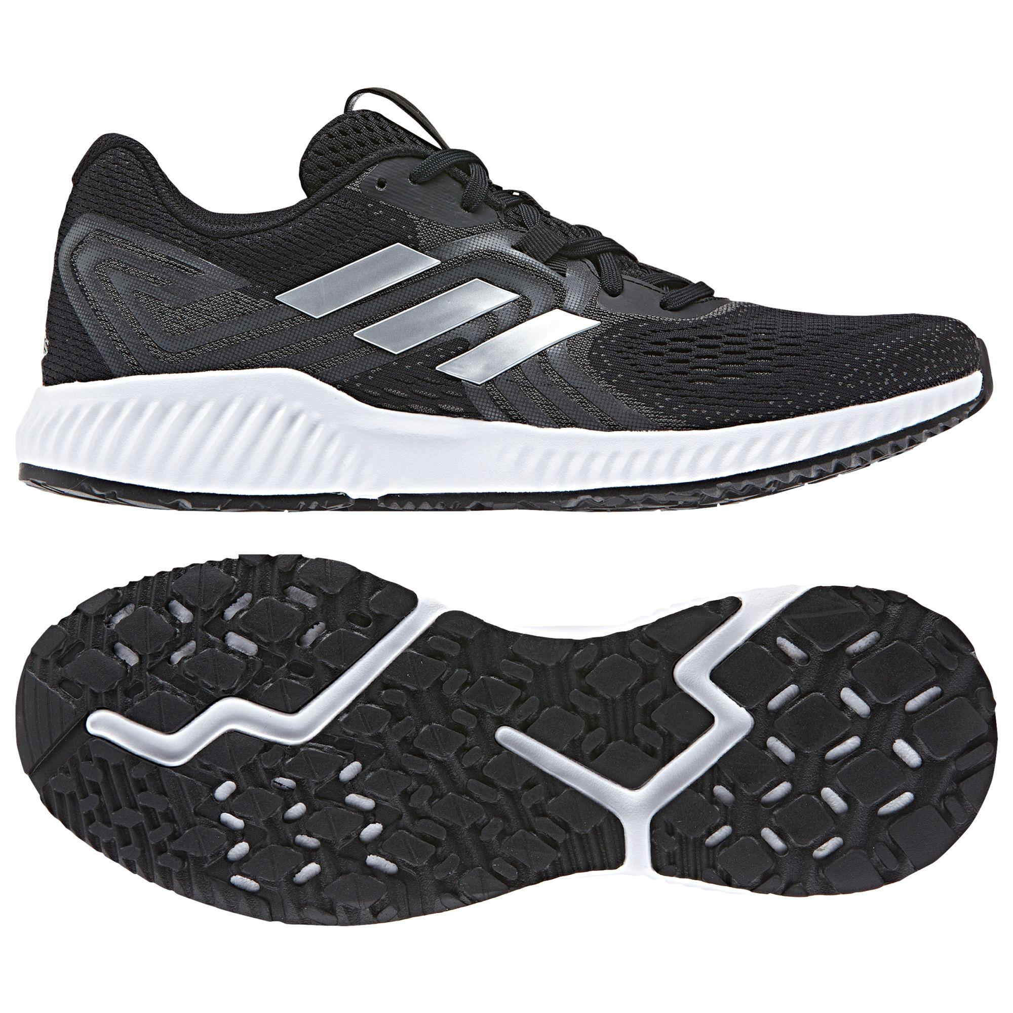 new style e5683 375fc adidas Aerobounce 2 Mens Running Shoes in Black for Men - Ly