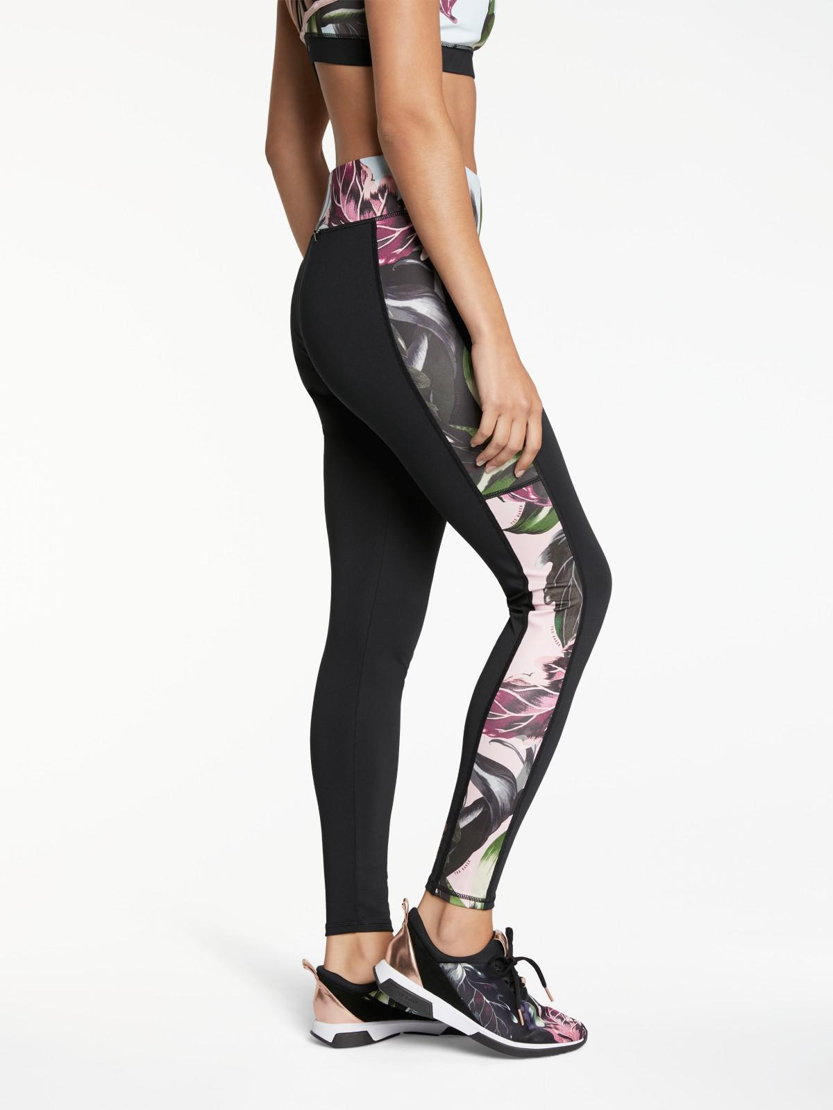 9b2c891003e78b Ted Baker Fit To A T Pilata Eden Activewear Leggings in Black - Lyst