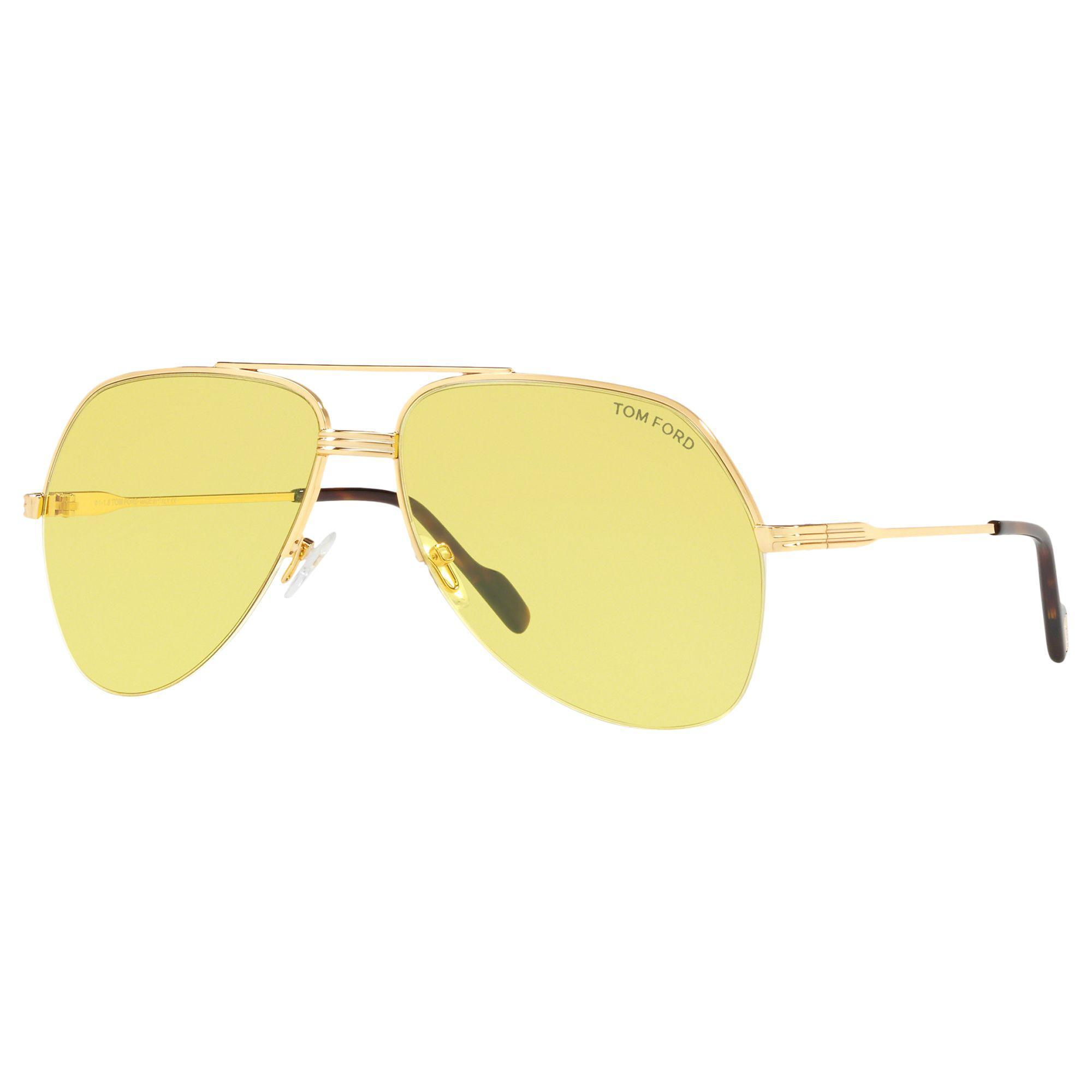 dfec3875c4006 Tom Ford Ft0644 Wilder Men s Aviator Sunglasses for Men - Lyst