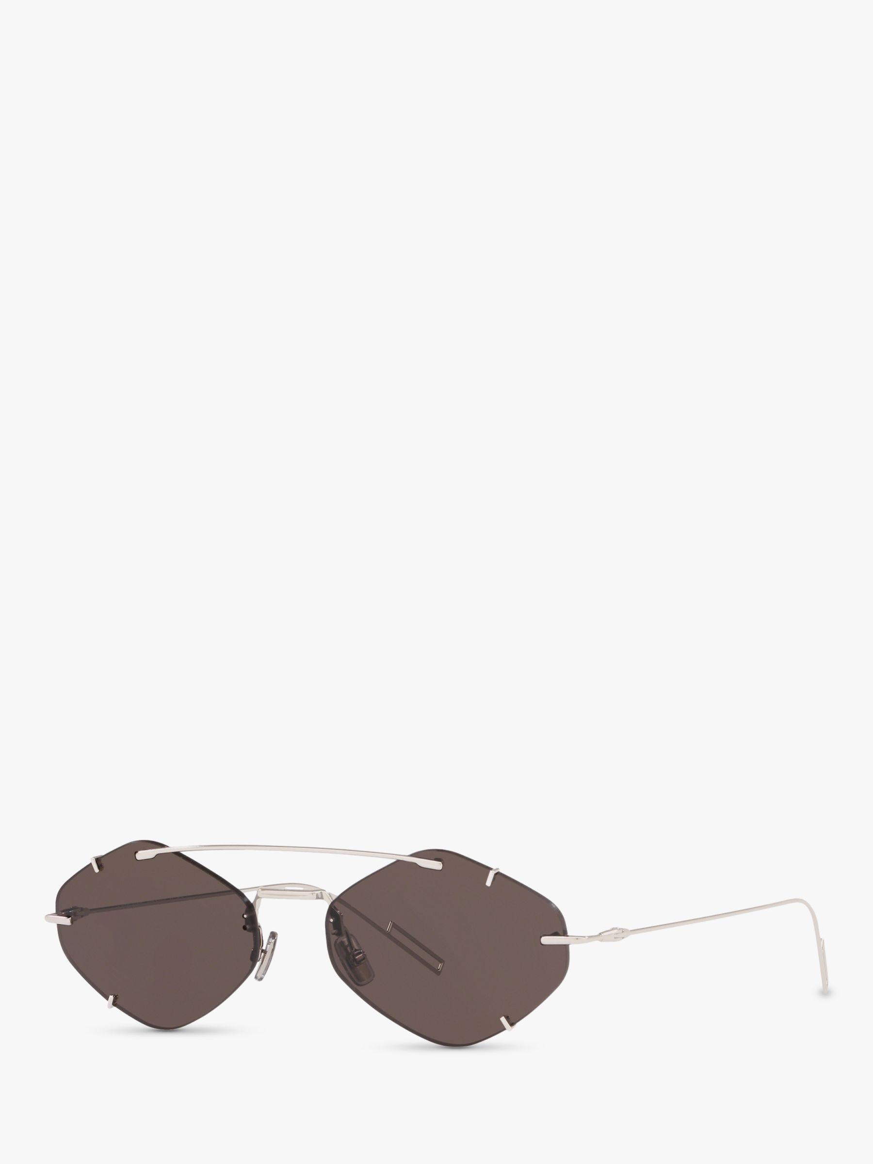 e7a222633f8 Dior - Metallic Inclusion Men s Asymmetric Sunglasses for Men - Lyst. View  fullscreen