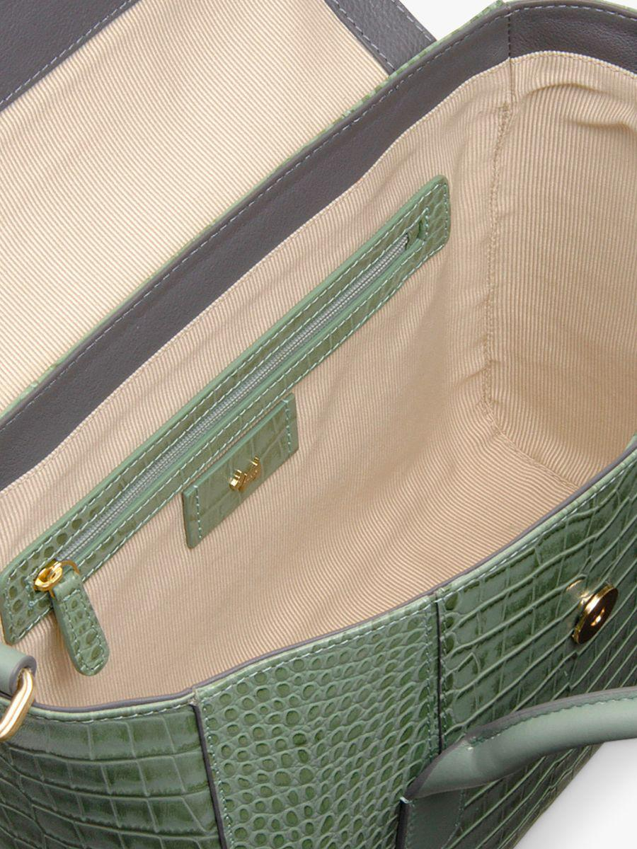 Radley Palace Street Medium Leather Flapover Grab Bag in Green - Lyst 07147685c3183