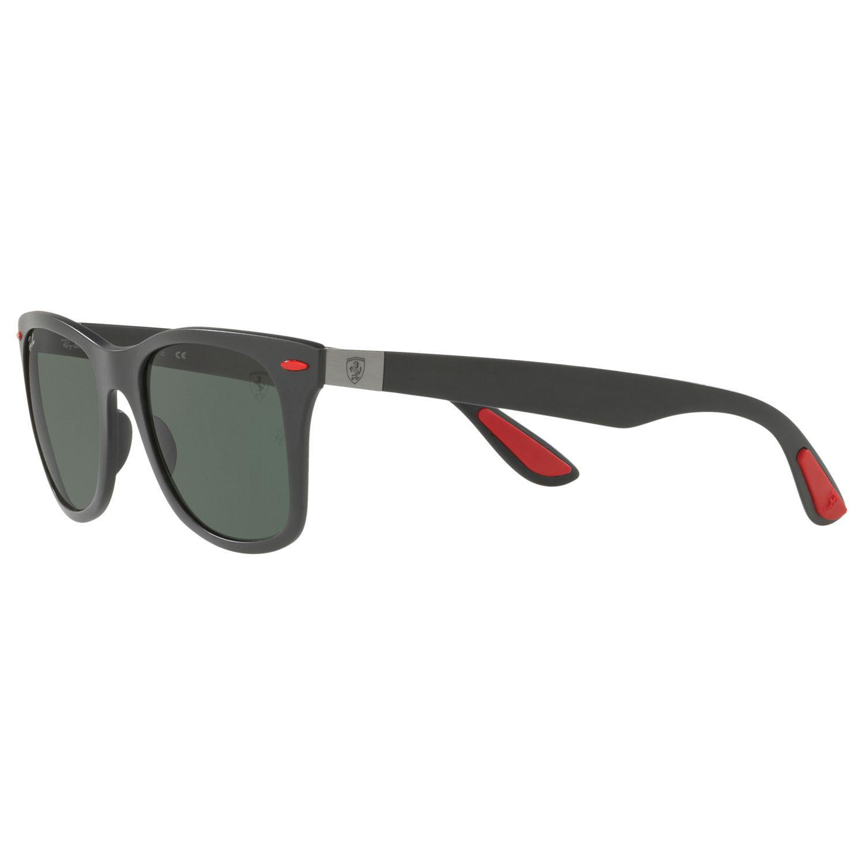 c2a359f0338 ... get ray ban green rb4195m scuderia ferrari wayfarer sunglasses for men  lyst. view fullscreen c94f7