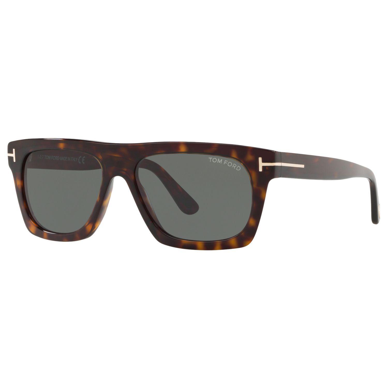 6223376d2edc5 Tom Ford Ft0592 Men s Ernesio-02 Square Sunglasses in Gray for Men ...