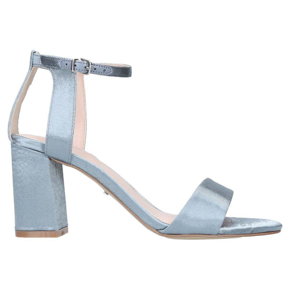 c198d66d048 Carvela Kurt Geiger Gigi Block Heeled Sandals in Blue - Lyst