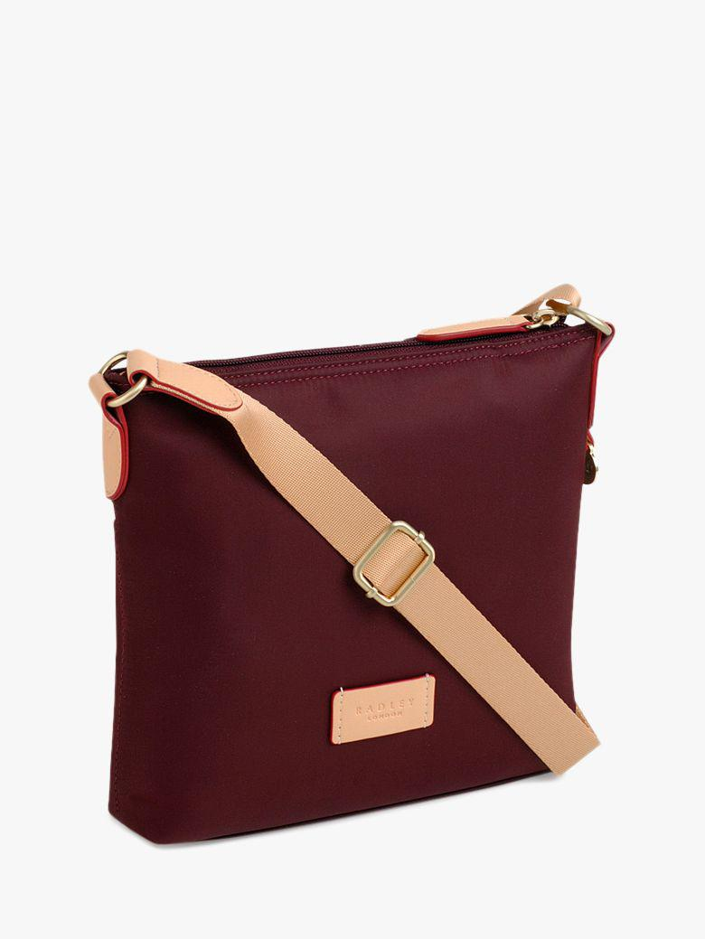 932c0d3210 Radley Pocket Essentials Fabric Small Cross Body Bag in Red - Lyst