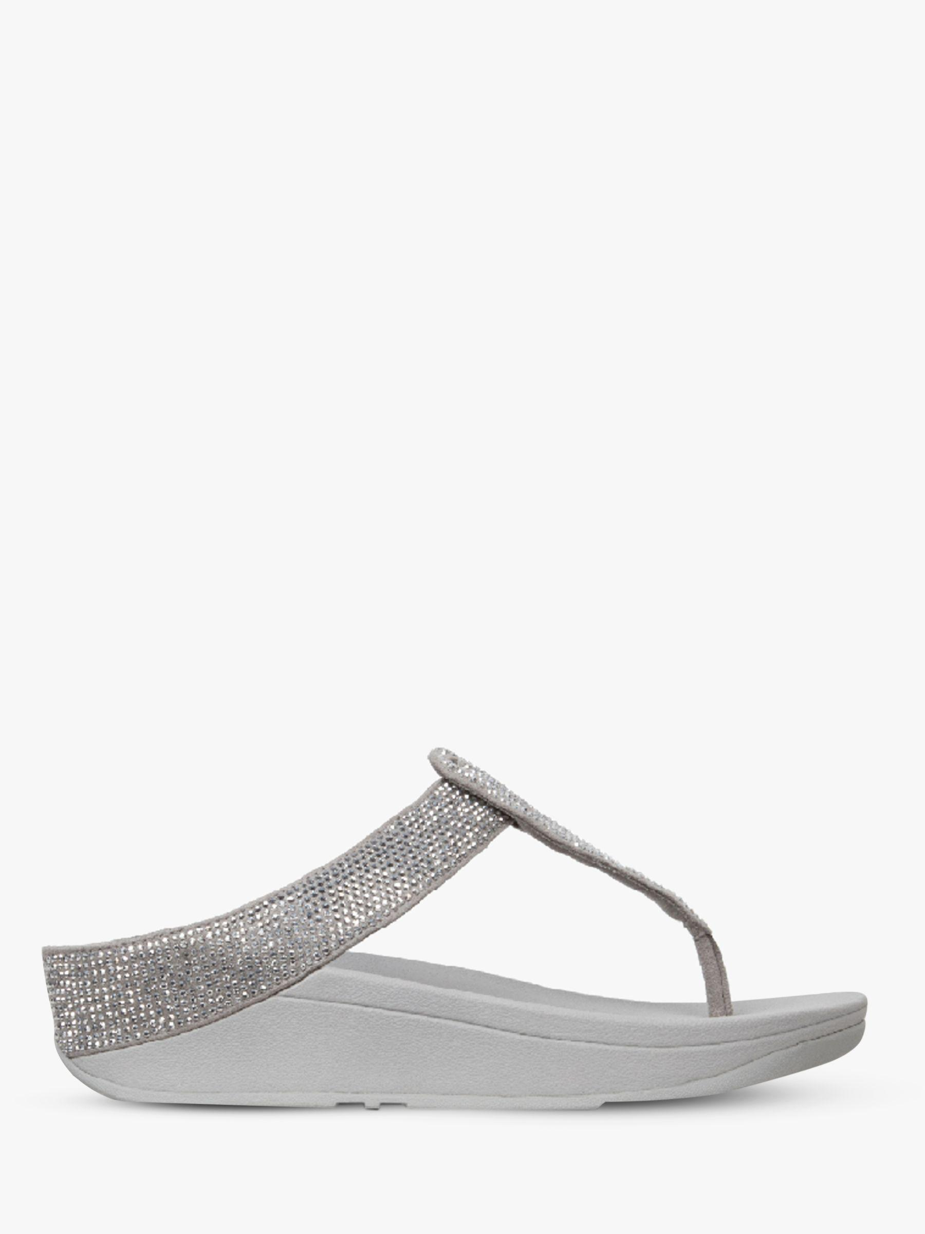 61b6b083e Fitflop. Women s Metallic Isabelle Toe Post Sequin Embellished Sandals. £70  From John Lewis and Partners