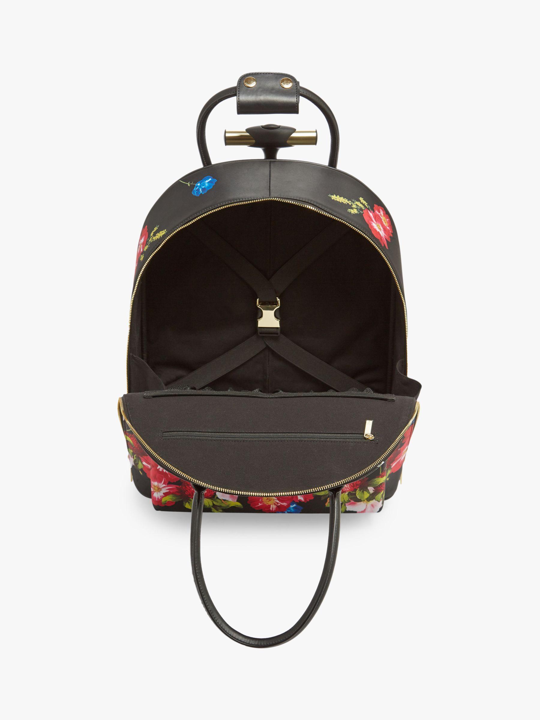62c4d9f7e5e1 Ted Baker Regaan Berry Sundae Travel Bag in Black - Lyst