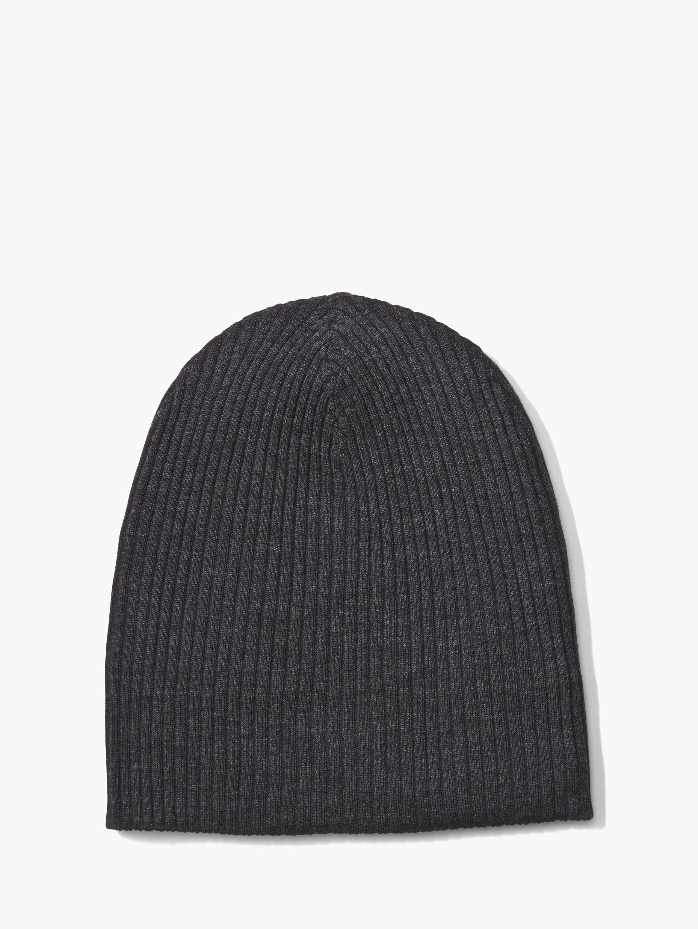 Lyst - John Varvatos Double Layer Beanie in Black for Men 651c4a8b6aa